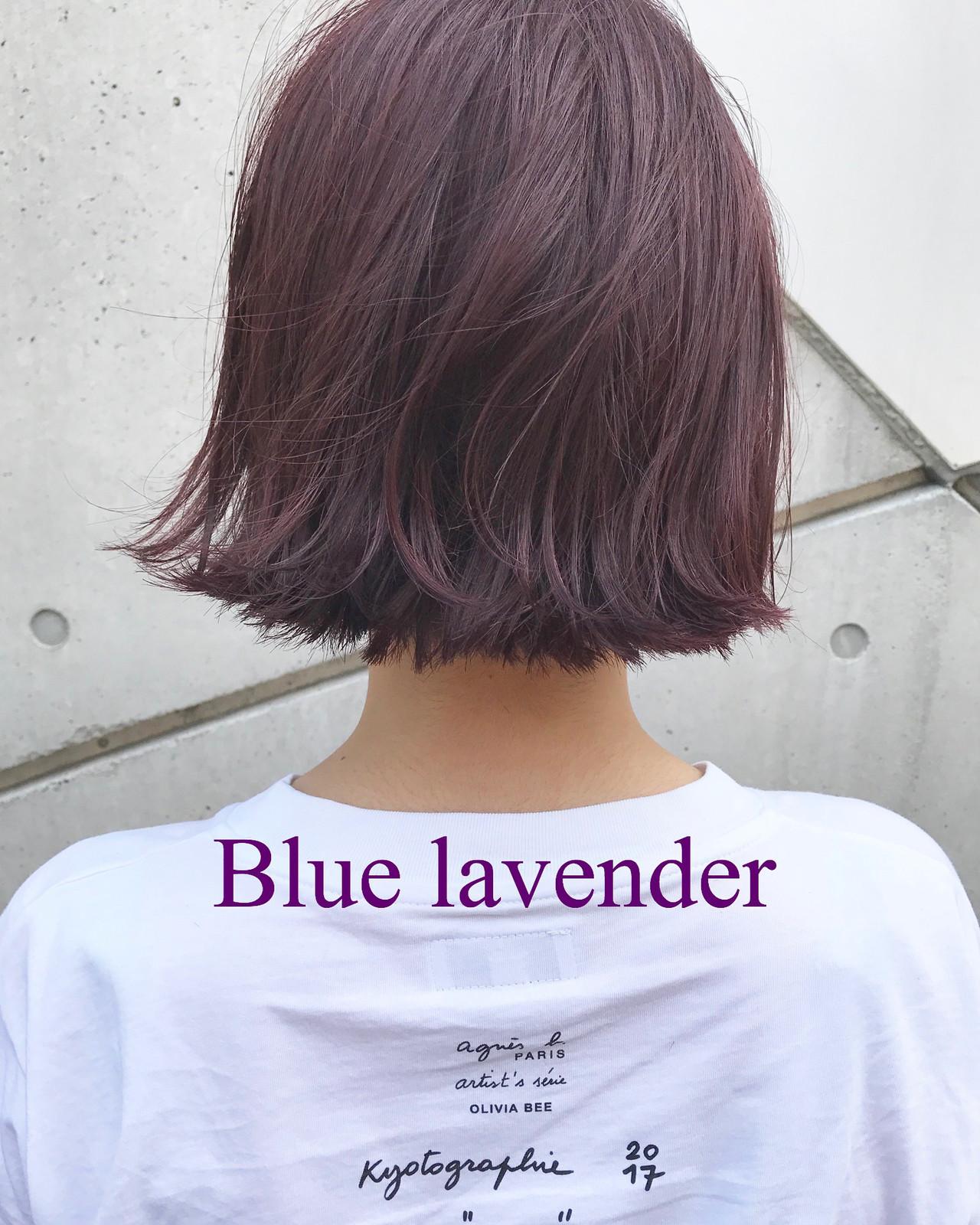 レッド グレージュ ストリート ピンクヘアスタイルや髪型の写真・画像