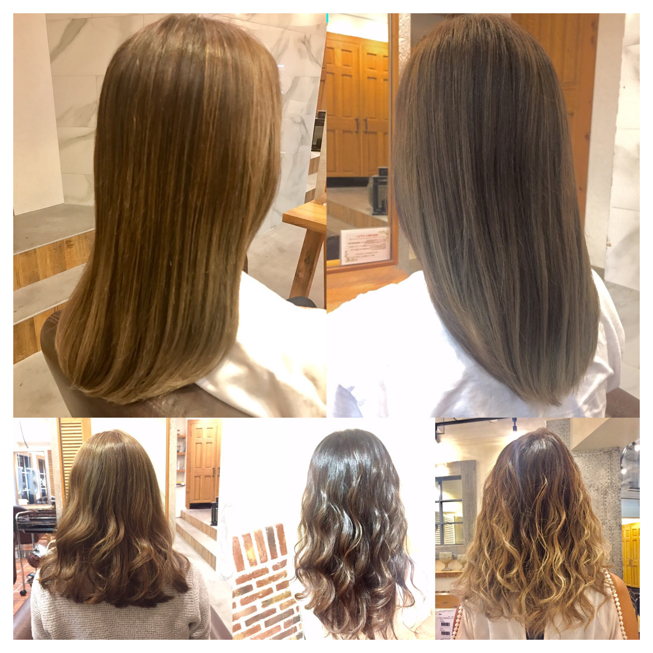 アッシュ 大人かわいい フェミニン グラデーションカラー ヘアスタイルや髪型の写真・画像   NARUMI / AUBE hair harajuku