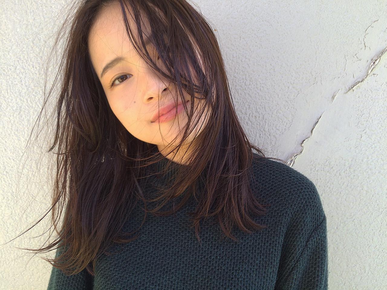 大人女子 ミディアム 外国人風 アッシュ ヘアスタイルや髪型の写真・画像   NAOYA KARASAWA / krabät