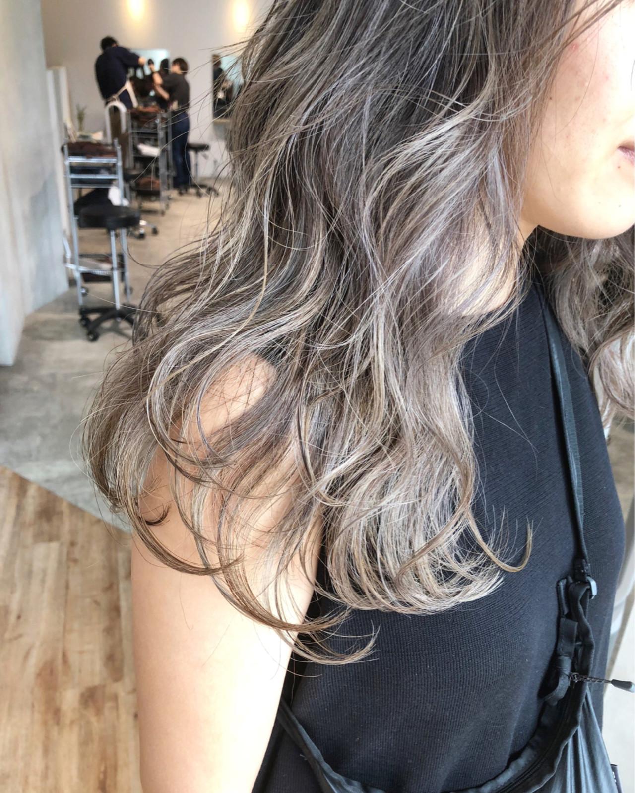ロング ストリート 女子力 アッシュ ヘアスタイルや髪型の写真・画像 | ALT 森田 正浩 / ALT