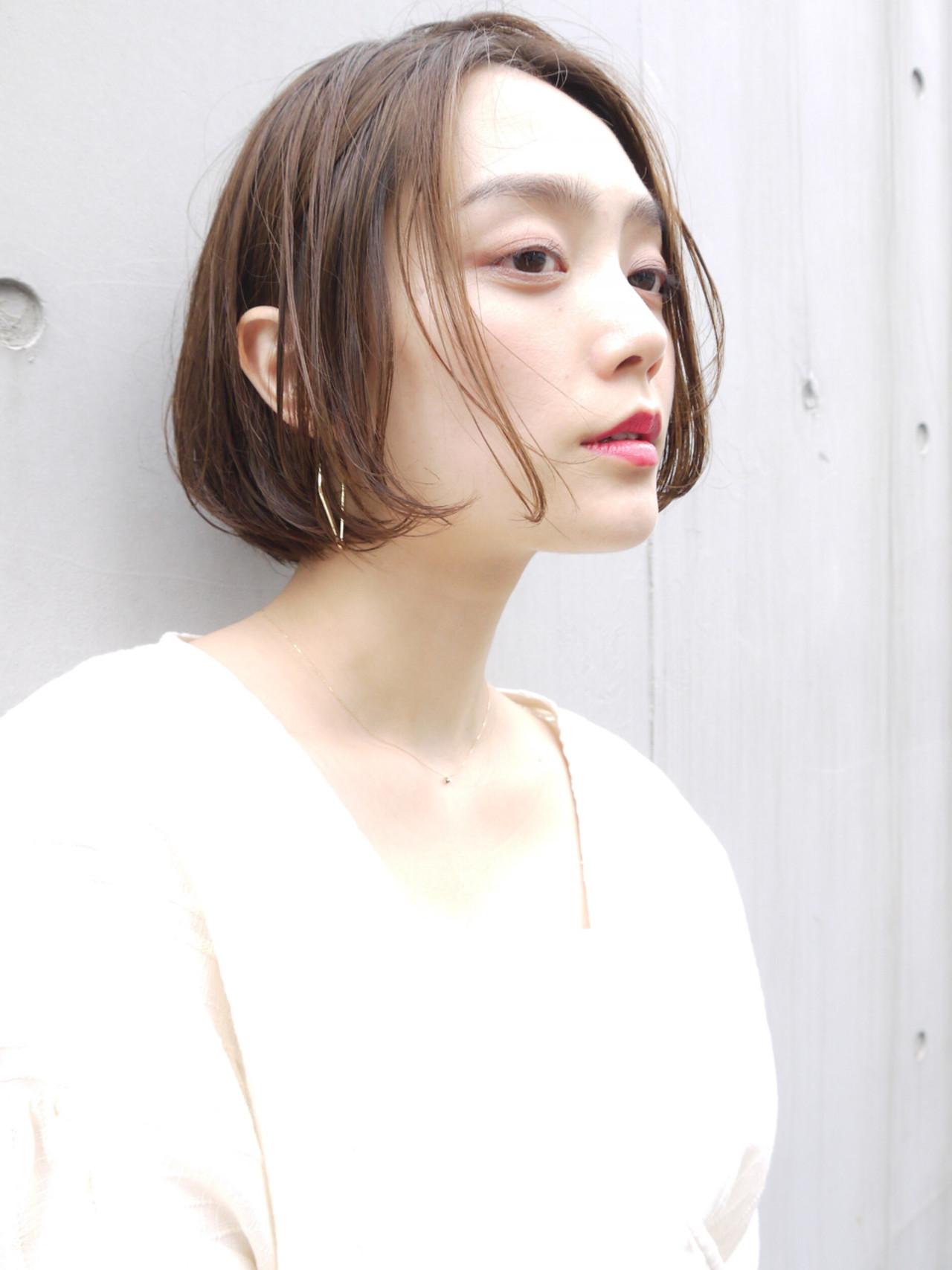 ショートボブ モテ髪 ゆるふわ 愛され ヘアスタイルや髪型の写真・画像 | HIROKI / roijir / roijir