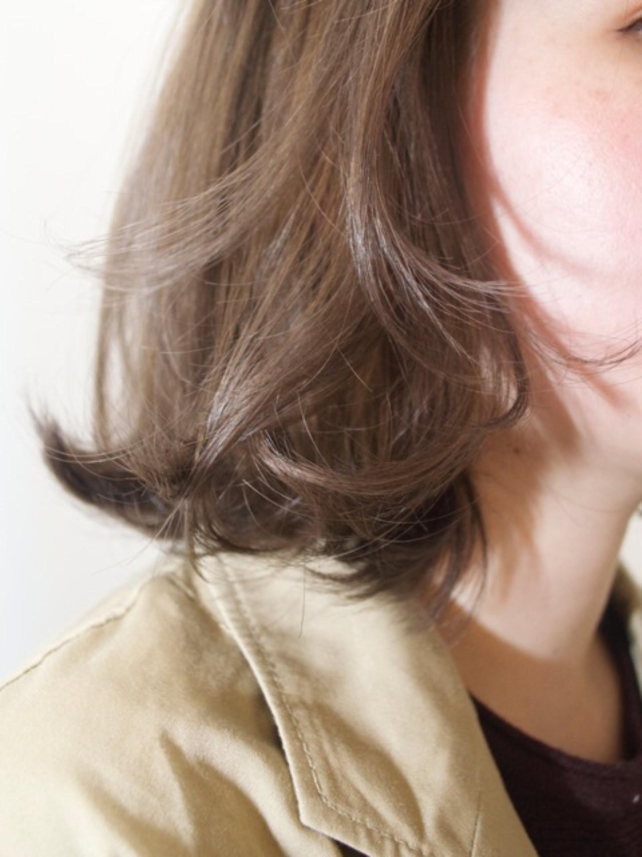 ボブ ハイライト ワンカール ナチュラル ヘアスタイルや髪型の写真・画像 | YOSUKE KOJIMA / CONO HAIR