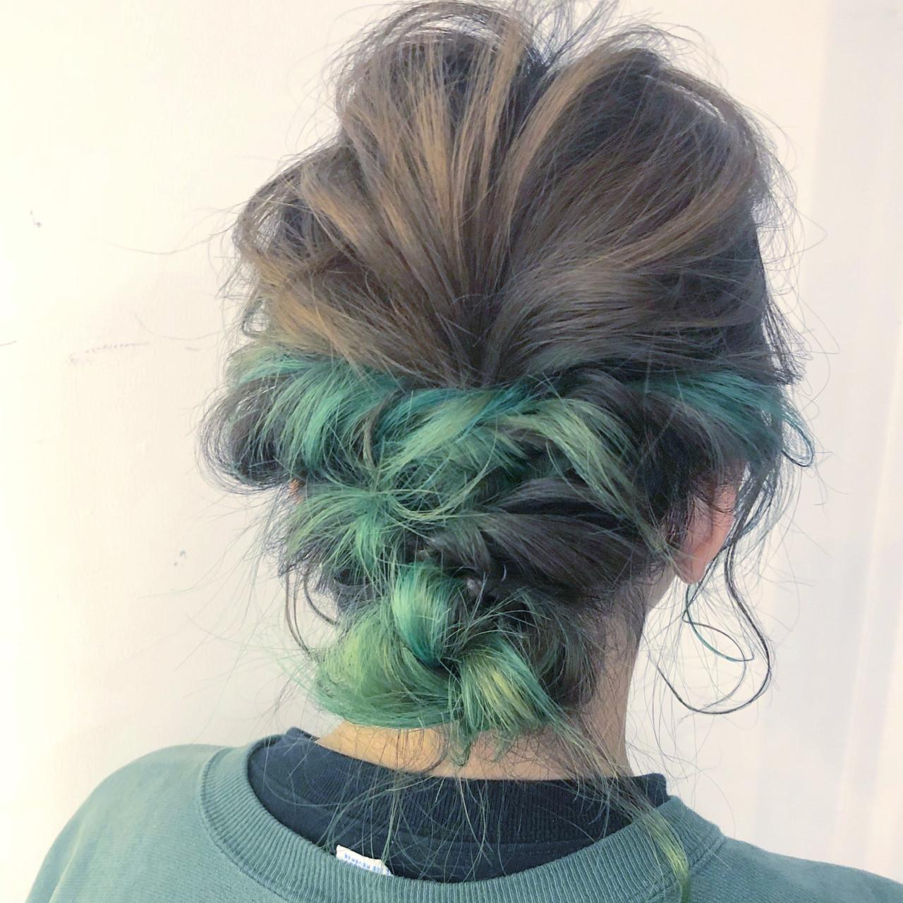 スポーツ ヘアアレンジ 簡単ヘアアレンジ ストリート ヘアスタイルや髪型の写真・画像 | 山口 卓哉/earth北浦和店 / Hair&Make EARTH北浦和店