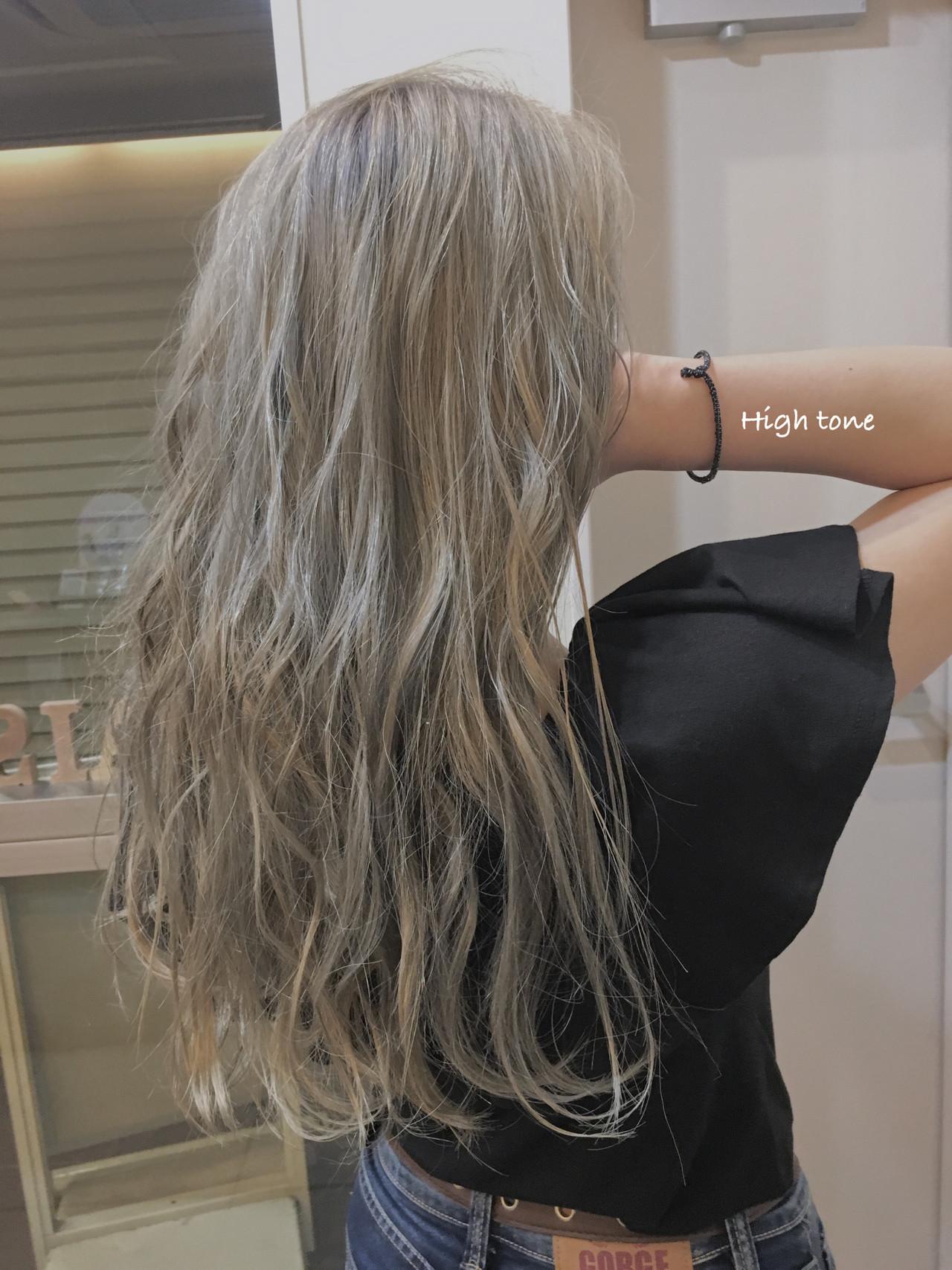 大人ハイライト セミロング コントラストハイライト 3Dハイライト ヘアスタイルや髪型の写真・画像 | 《町田の美容師》キタダヒロキ / Hair Frais Make