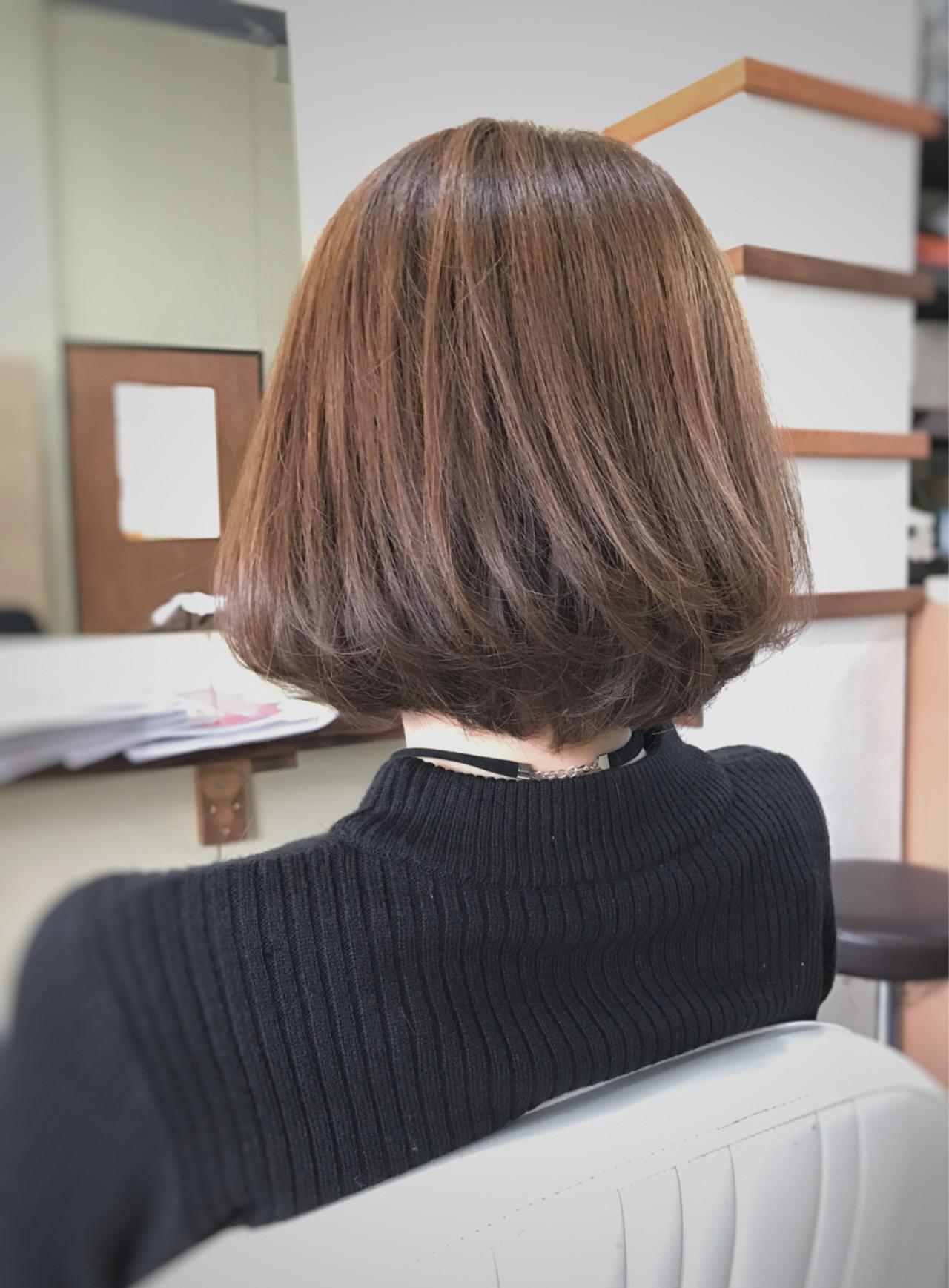 ヘアアレンジ ショートボブ ショート こなれ感 ヘアスタイルや髪型の写真・画像   サワ / Seamu