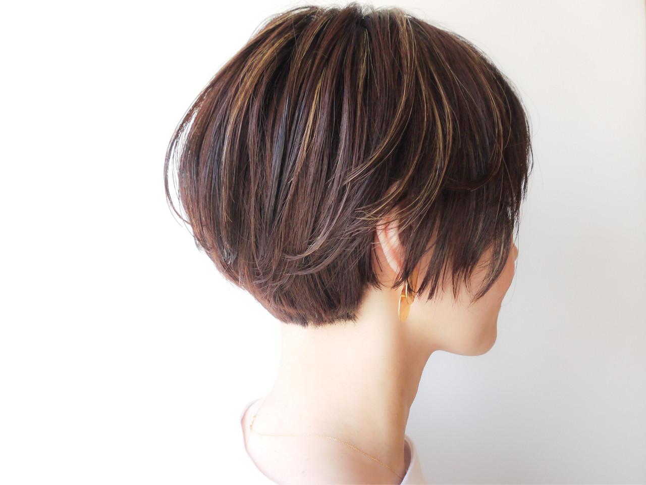 モテ髪 ゆるふわ ショートボブ コンサバ ヘアスタイルや髪型の写真・画像 | HIROKI / roijir / roijir