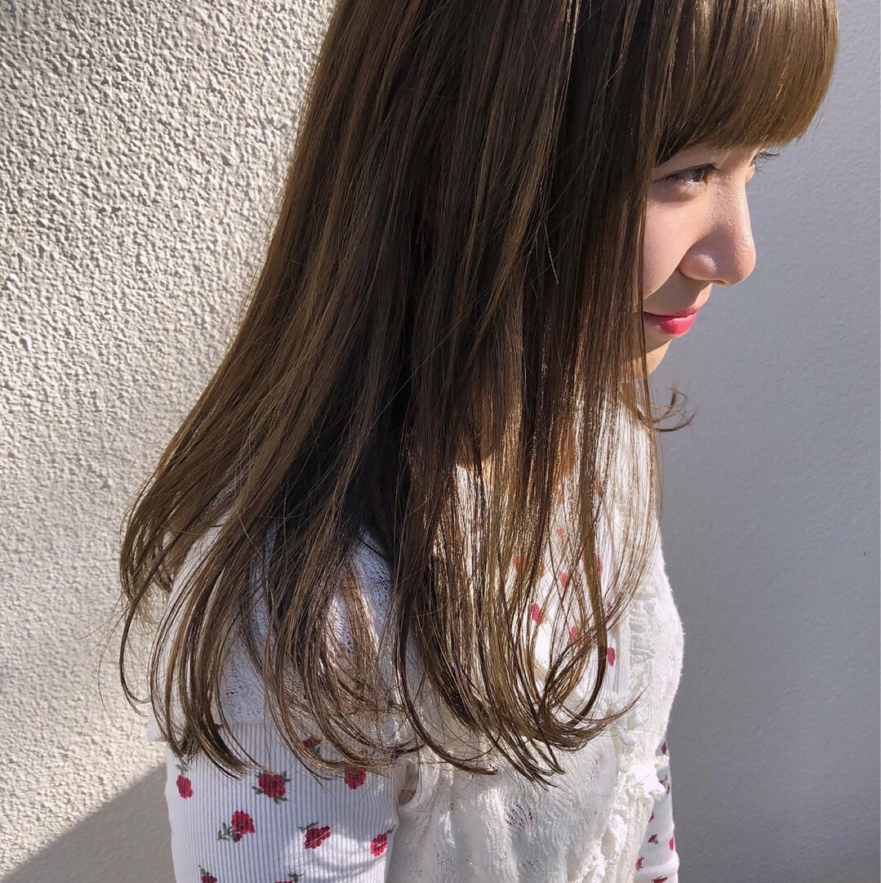 ゆるふわ デート 外国人風 ガーリー ヘアスタイルや髪型の写真・画像 | 岩田 和也 / NOE SALON / NOESALON