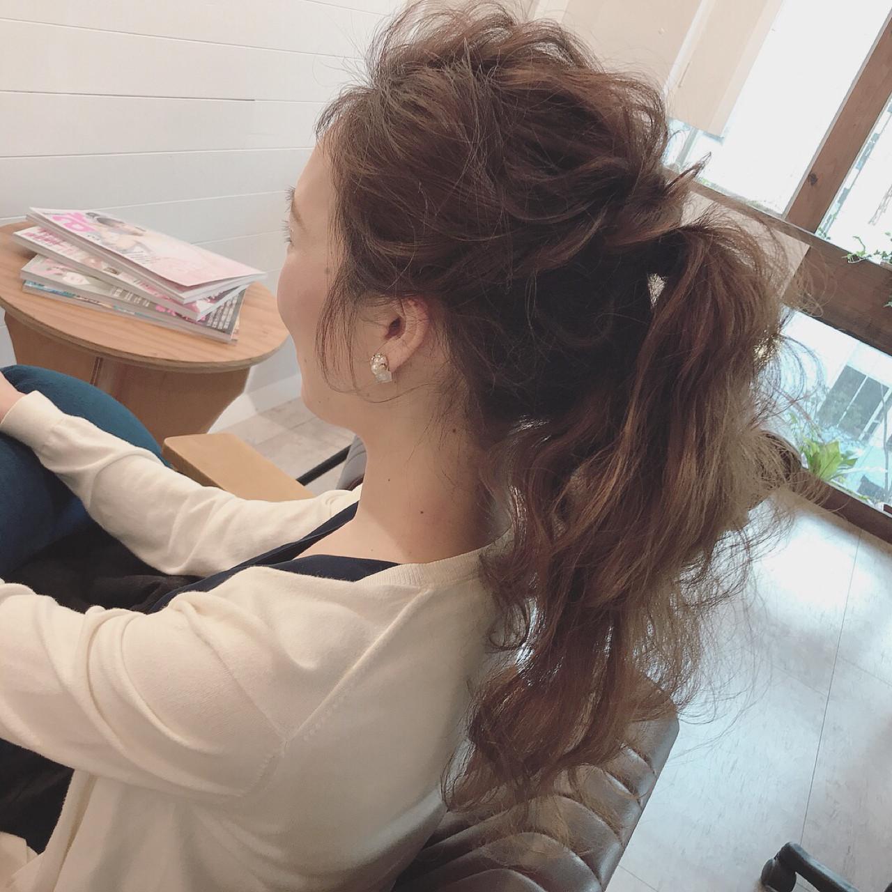 大人かわいい ロング 謝恩会 ヘアアレンジ ヘアスタイルや髪型の写真・画像 | YUJI / LIICHI / LIICHI (リイチ)