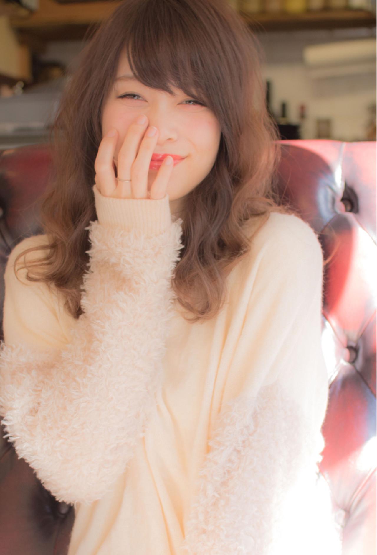 ふわふわ感がたまらない。パ―マで憧れのドーリーガールに♡ 遠藤 駿 / Lond