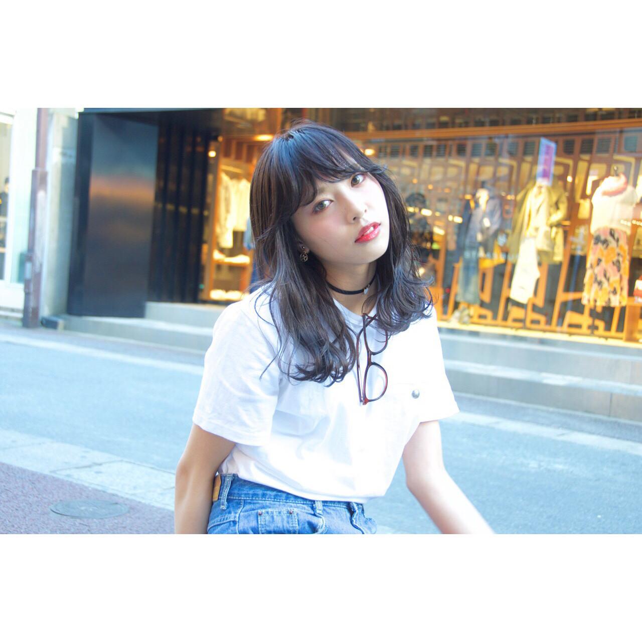 前髪あり ストリート ブラウン 外国人風 ヘアスタイルや髪型の写真・画像 | Ryota Yamamoto Daisy / Daisy