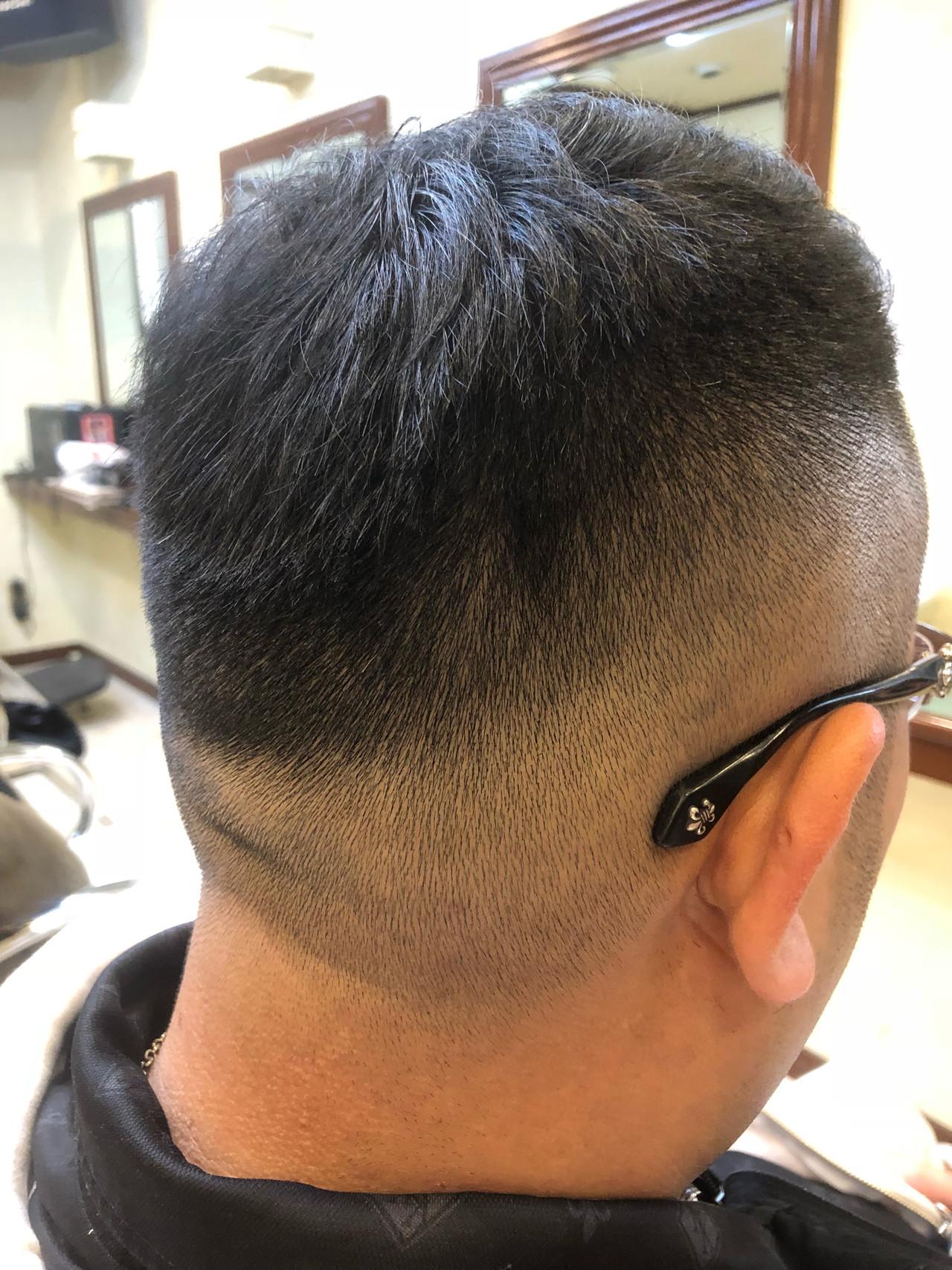 ショート メンズ ストリート 坊主 ヘアスタイルや髪型の写真・画像 | TMe hair/tomoe chiba / TMe hair川崎小田