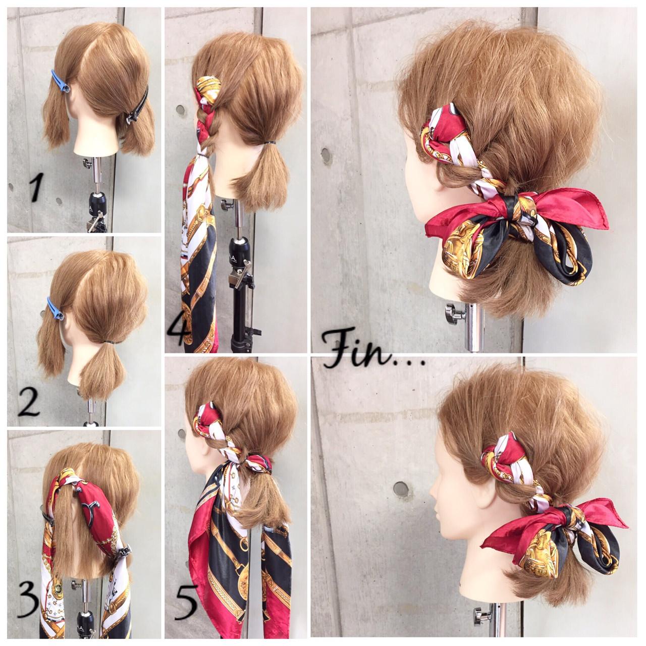 大人女子 三つ編み ボブ ショート ヘアスタイルや髪型の写真・画像 | 東海林翔太 LinobyU-REALM / Lino by U-REALM