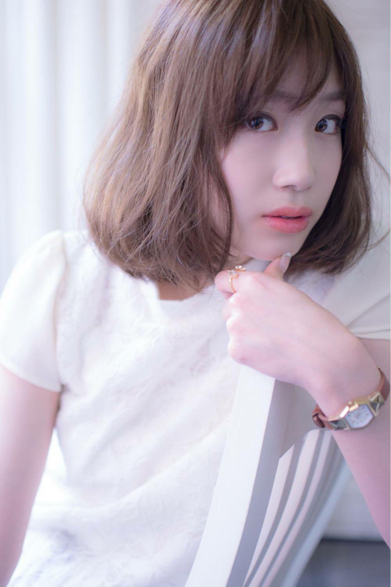 透明感を作り出す!イノセントカラーの力☆ 田渕 英和 / vicushair