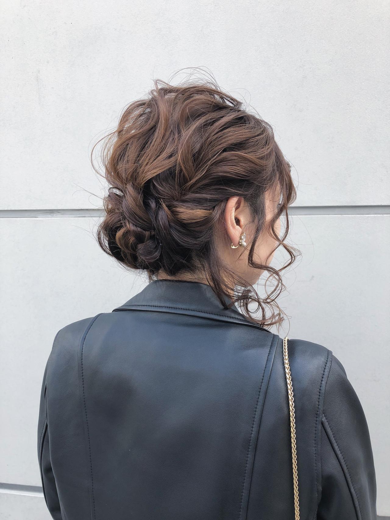 結婚式 デート 簡単ヘアアレンジ 成人式 ヘアスタイルや髪型の写真・画像 | 北里和哉 / far beyond