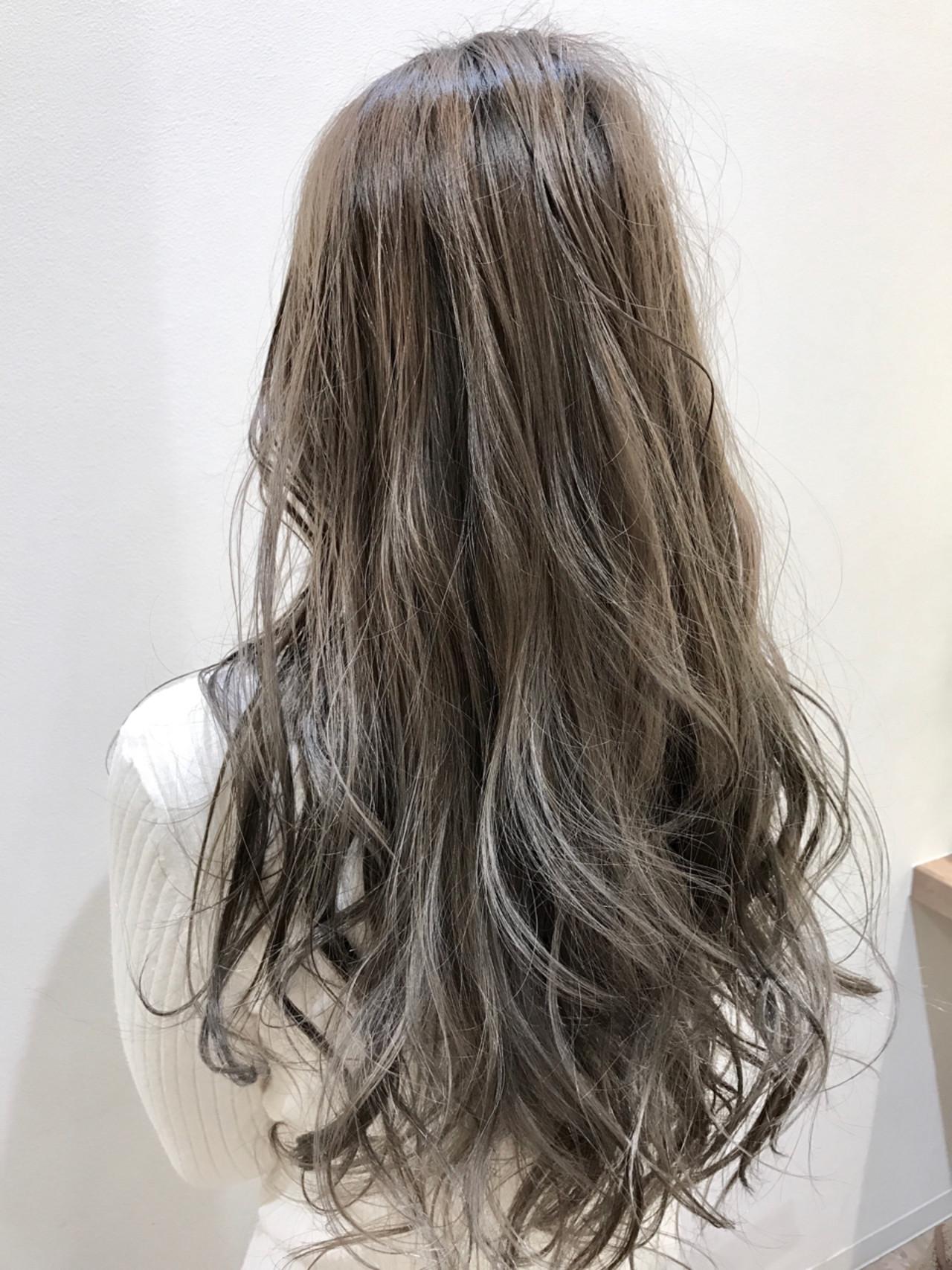 渋谷系 ハイライト アッシュ 外国人風ヘアスタイルや髪型の写真・画像