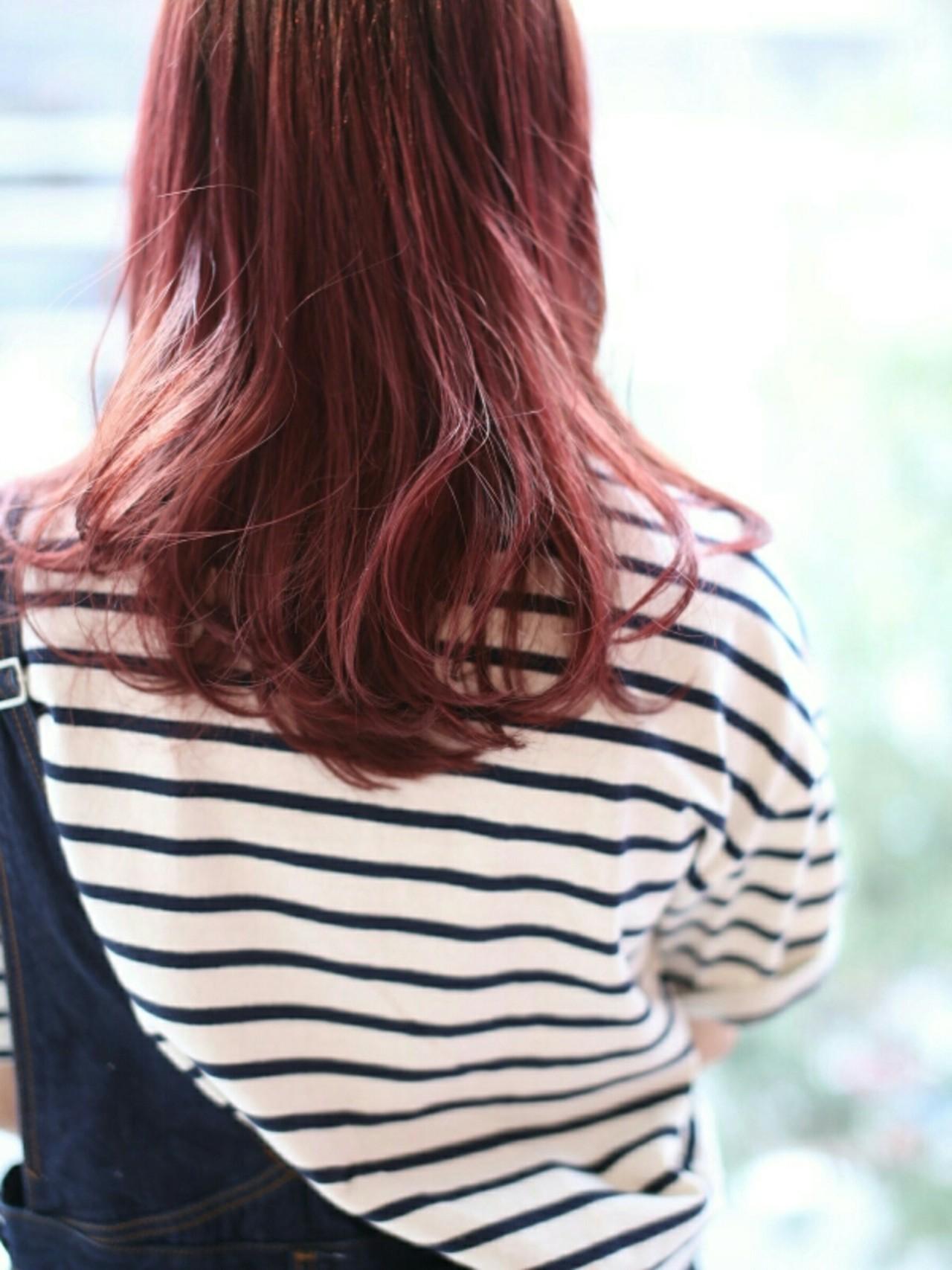 レッド 外国人風 ゆるふわ ストリート ヘアスタイルや髪型の写真・画像   YOHEI(Di-KA HAIR) / Di-KA HAIR