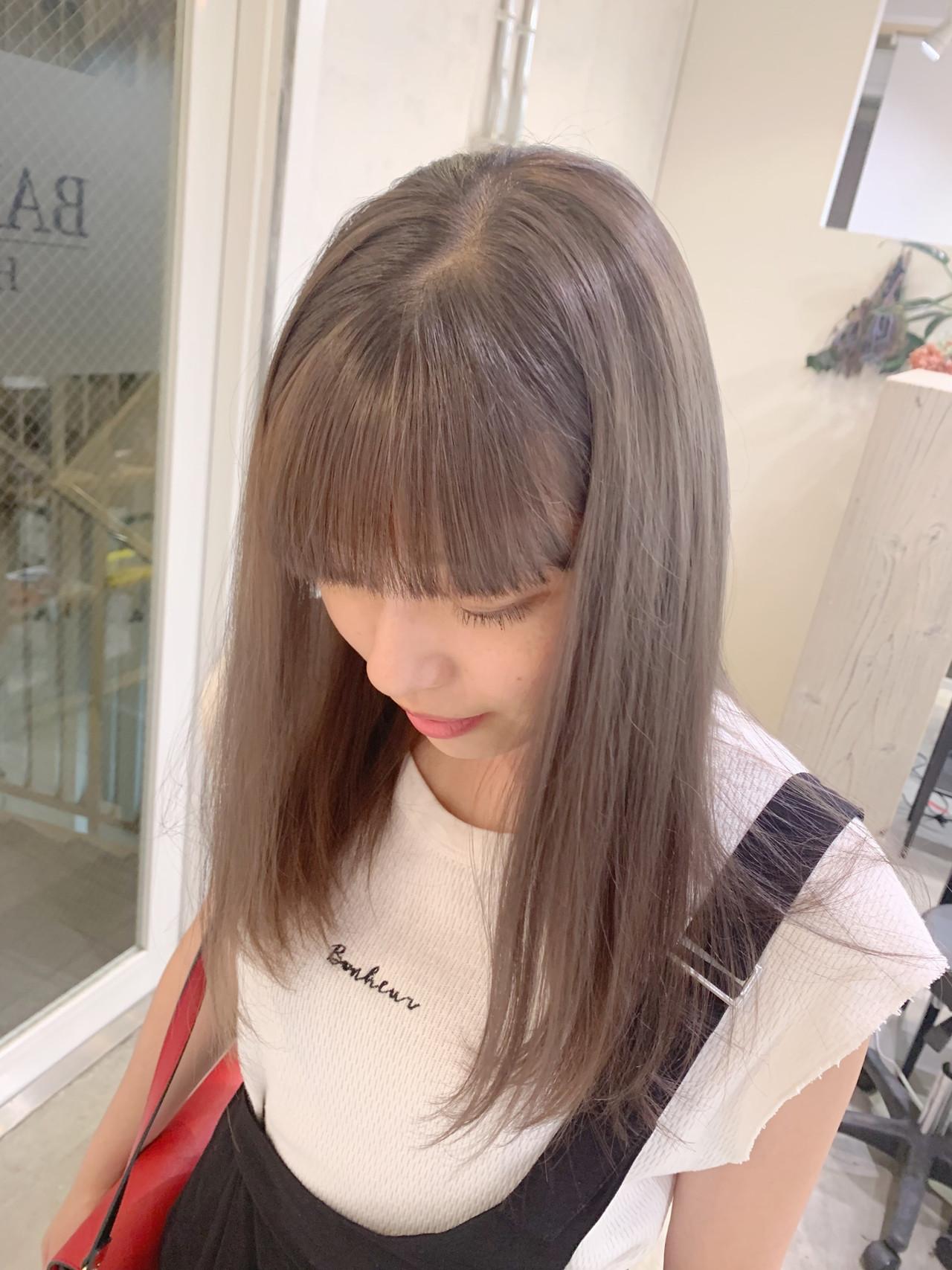 ナチュラル セミロング ヘアアレンジ 簡単ヘアアレンジ ヘアスタイルや髪型の写真・画像 | 寺坂 雄飛 / banks hair
