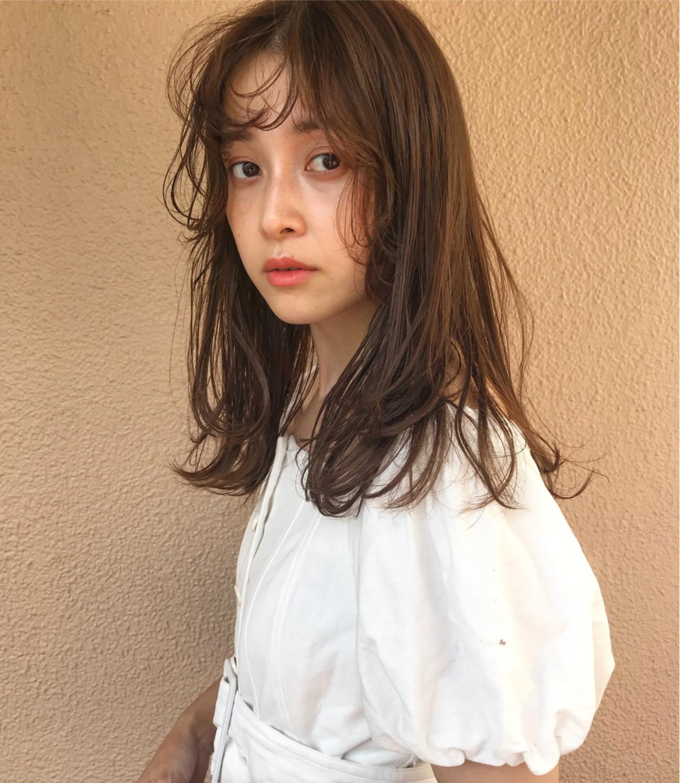 デート ヘアアレンジ アウトドア ミディアム ヘアスタイルや髪型の写真・画像 | lora.garden 英太 /  lora.garden