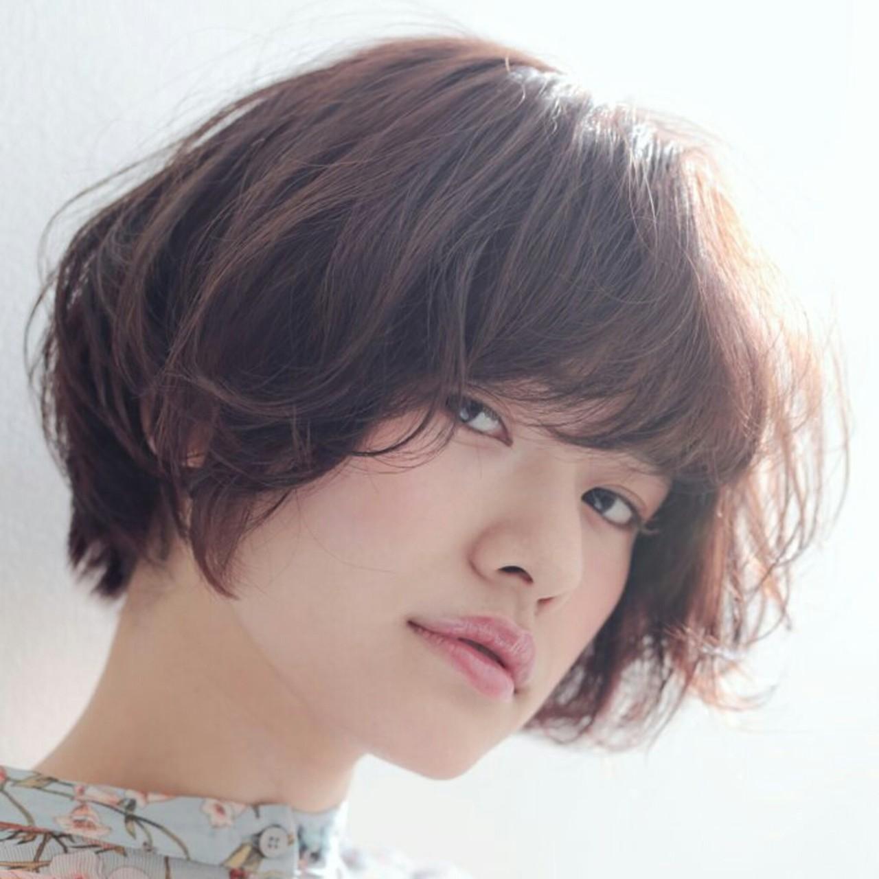 アッシュ 小顔 ニュアンス ナチュラル ヘアスタイルや髪型の写真・画像 | Yukie Horiuchi / スパイスアヴェダ