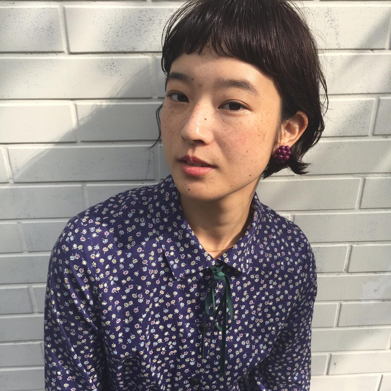 フェミニン ウェットヘア 抜け感 色気 ヘアスタイルや髪型の写真・画像   小西敬二郎 / Heartim