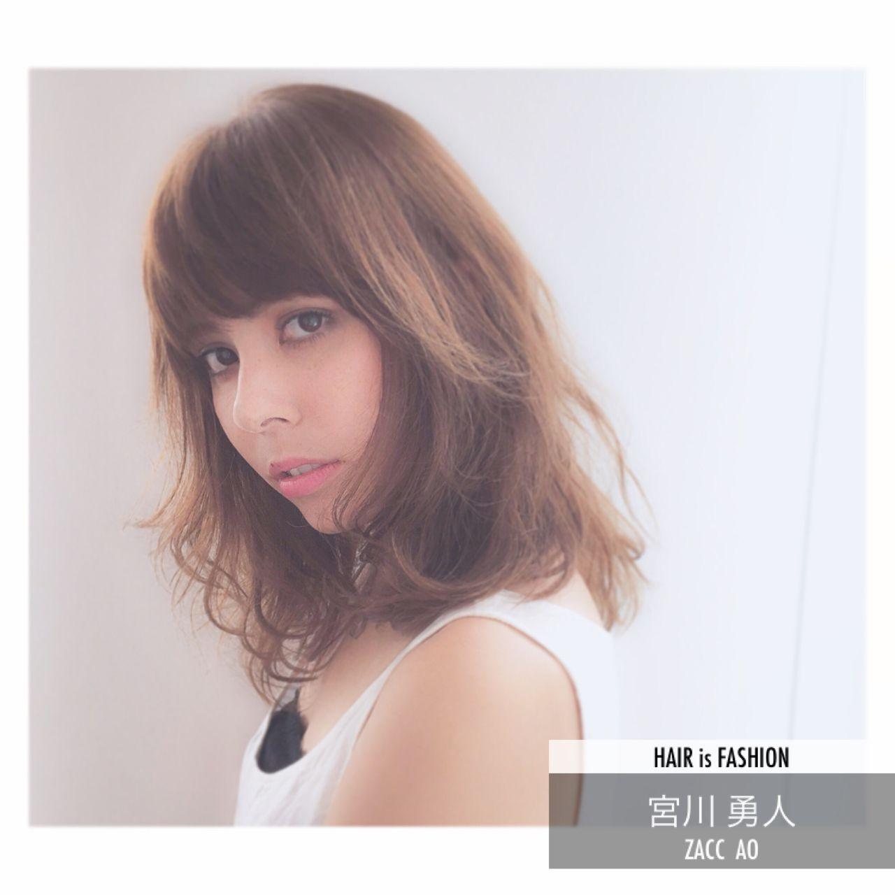 この秋、モテの基本は「ロブ」。海外セレブの間で話題になった髪型が日本でも流行中! 宮川 勇人