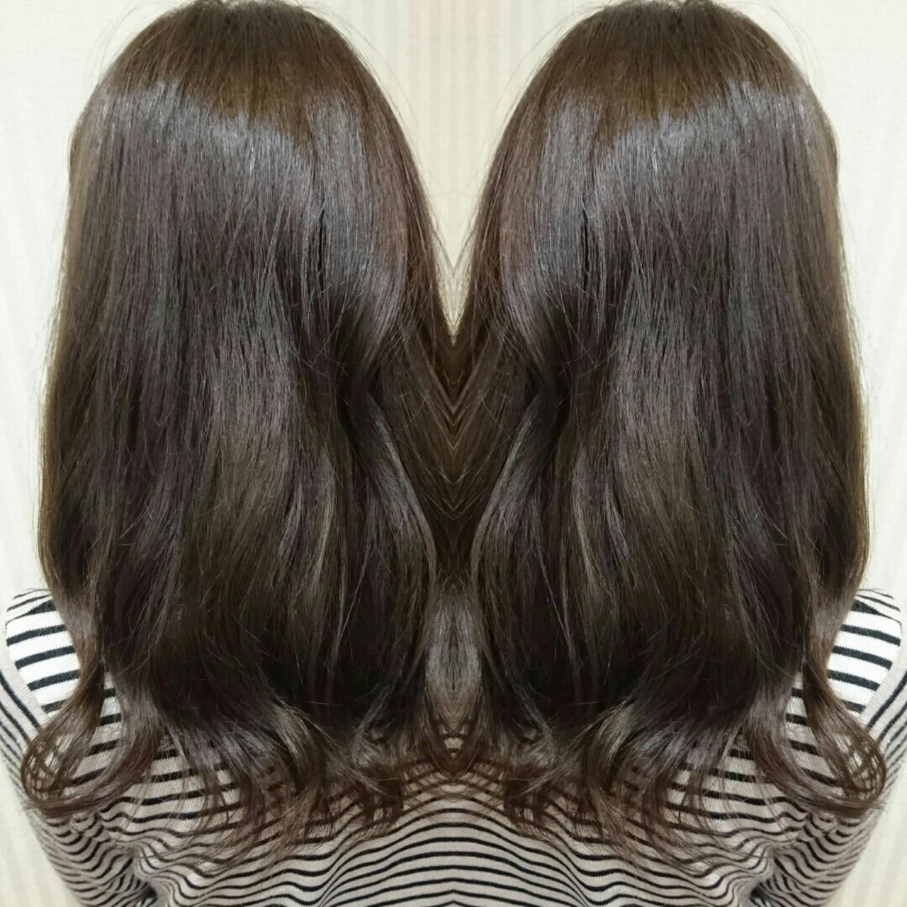 大人かわいい グラデーションカラー 外国人風 ナチュラルヘアスタイルや髪型の写真・画像