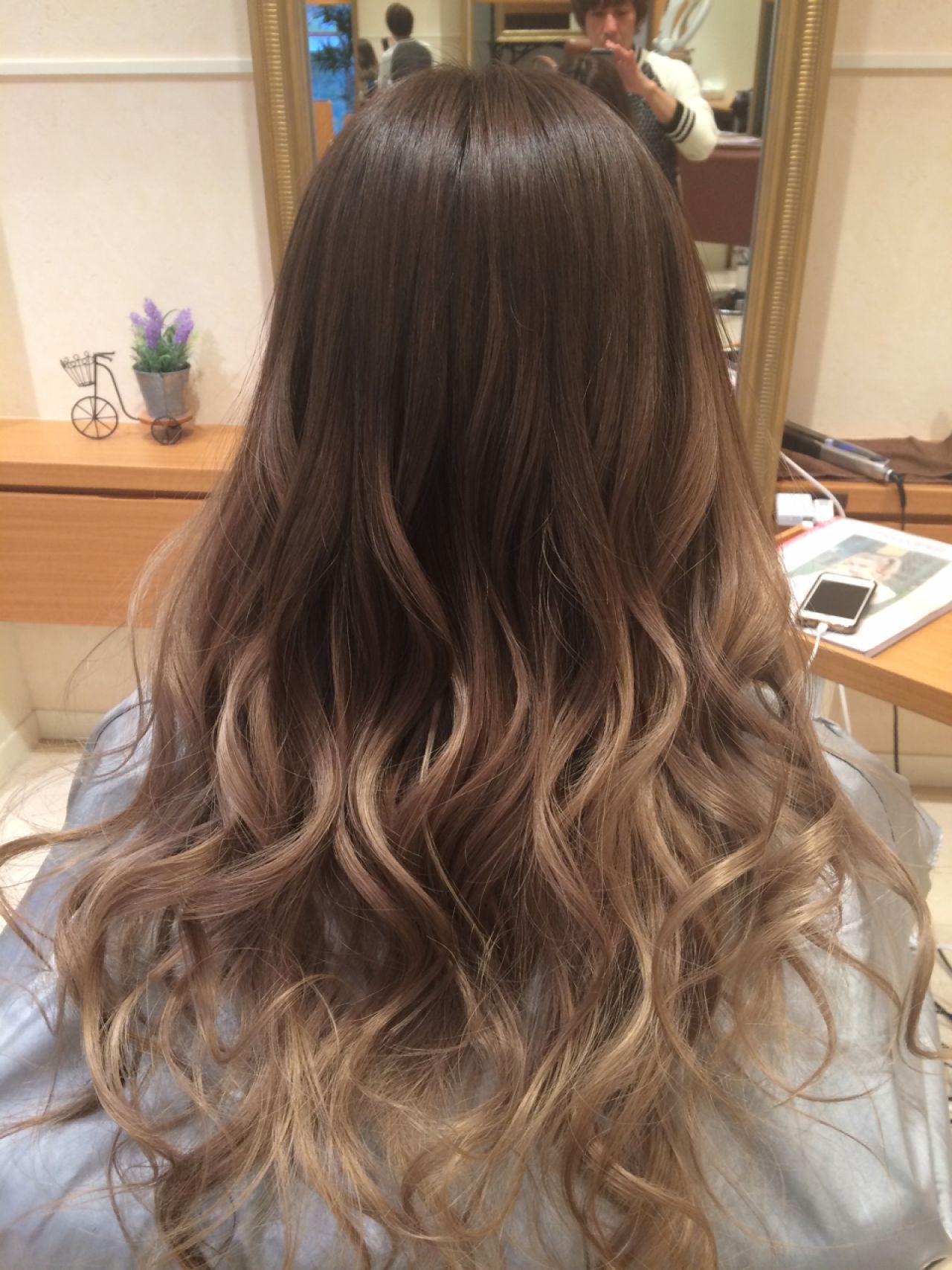 HAIRで人気のスナップをPickup!誰もが憧れるグラデーションカラー。 佐門 豊 / RISELw/u