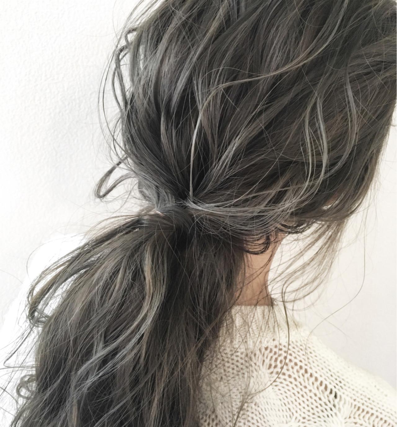 簡単ヘアアレンジ ヘアアレンジ 秋 ナチュラルヘアスタイルや髪型の写真・画像