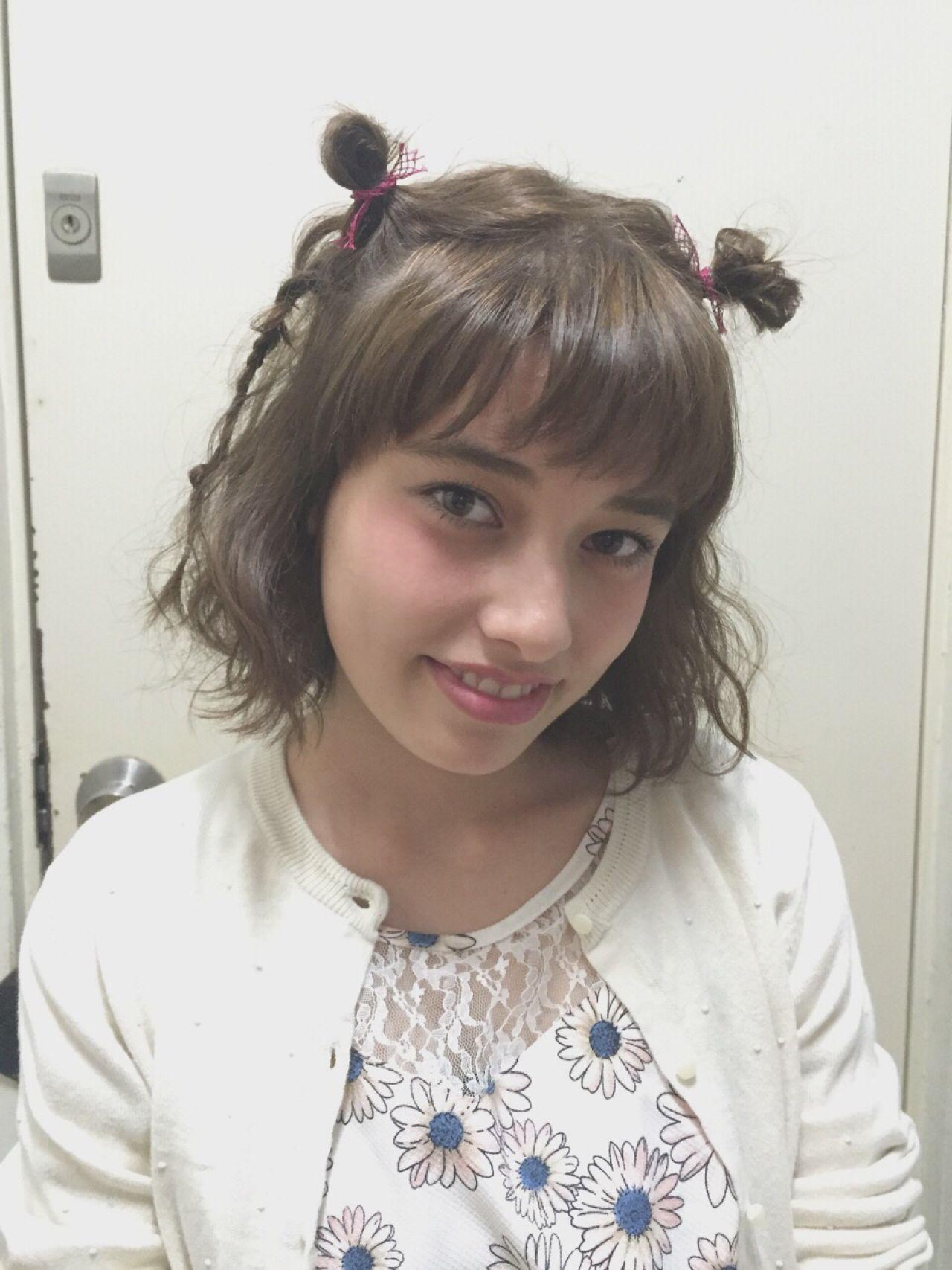 愛され モテ髪 ヘアアレンジ 三つ編み ヘアスタイルや髪型の写真・画像 | FRAGMENT 関根恵美 / FRAGMENT/meuvle