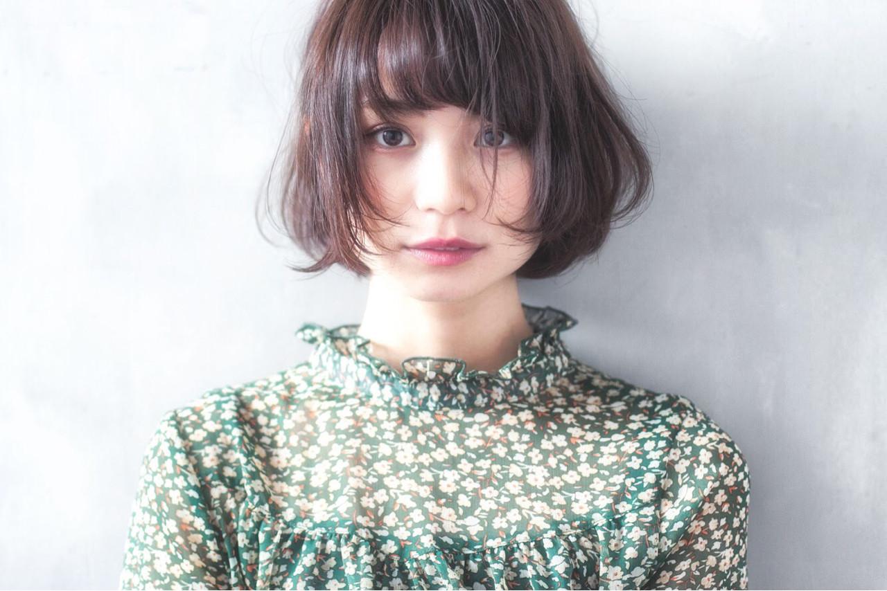 大人女子 小顔 ナチュラル ニュアンス ヘアスタイルや髪型の写真・画像 | 日野 達也 / GO TODAY  SHAiRE SALON