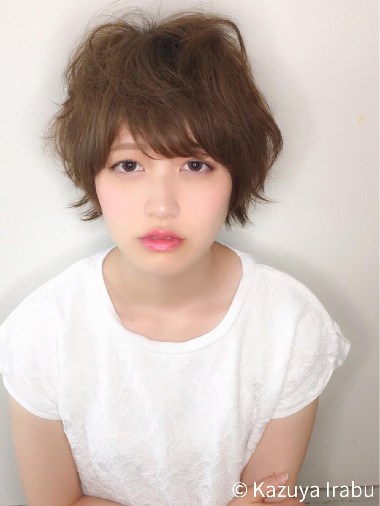 ピュア パーマ ゆるふわ 大人かわいい ヘアスタイルや髪型の写真・画像 | Kazuya Irabu / アービング