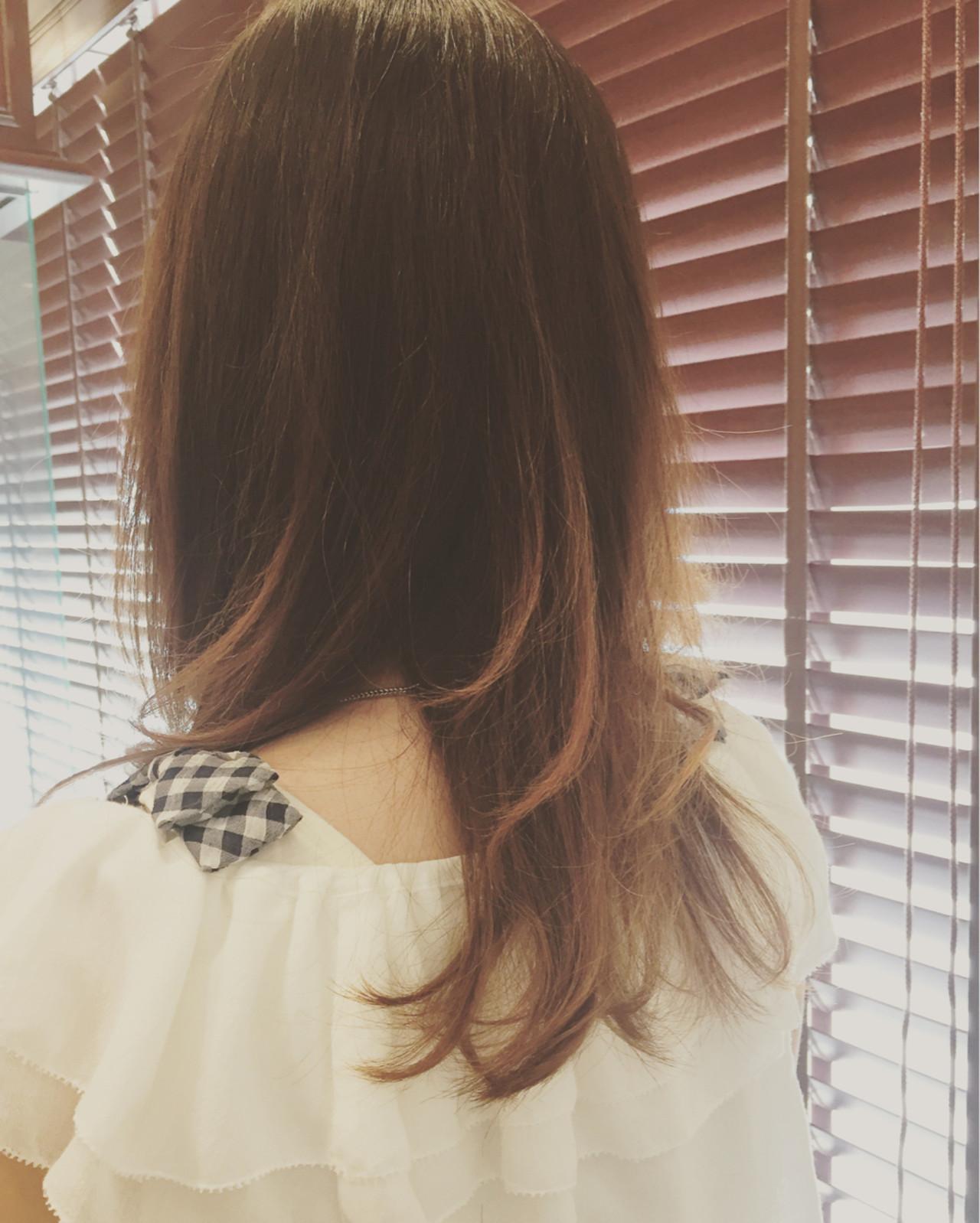 アッシュ ナチュラル ゆるふわ セミロング ヘアスタイルや髪型の写真・画像 | 中島由紀子 / Cut Studio LOOSE