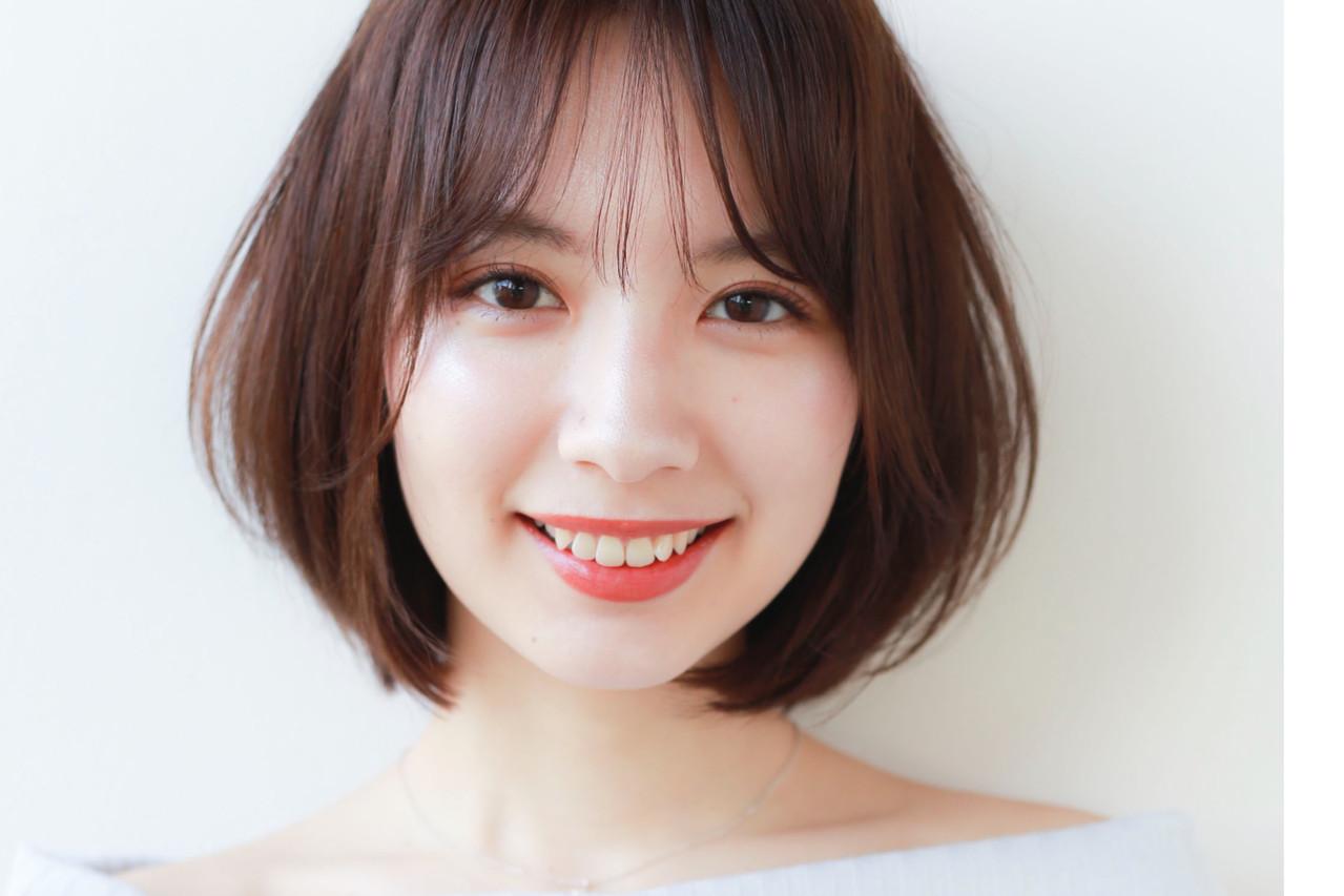 モテボブ まとまるボブ ミニボブ レイヤーボブ ヘアスタイルや髪型の写真・画像 | Mami Watanabe / STAR TOKYO
