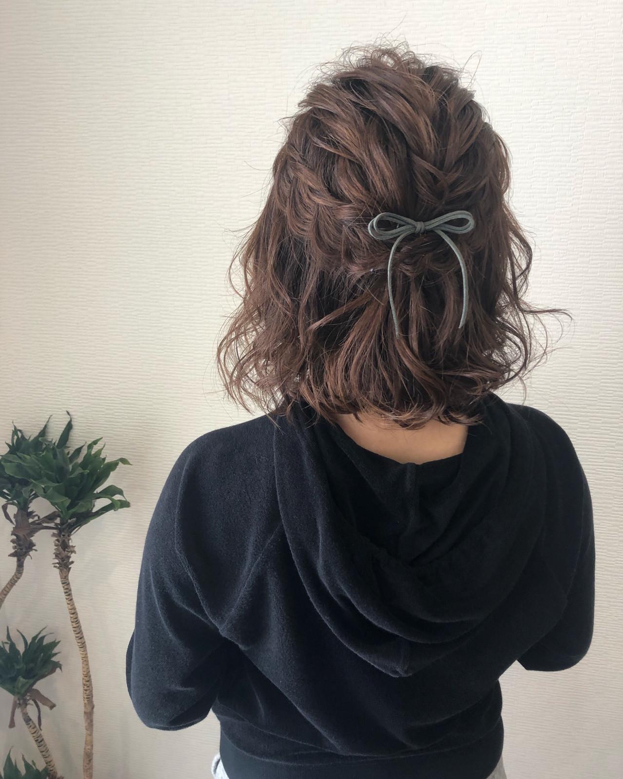 ヘアセット ボブアレンジ ボブ ヘアアレンジ ヘアスタイルや髪型の写真・画像   mai / HAIR SALON STELLA