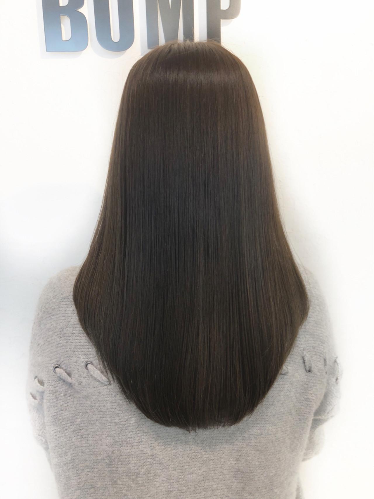 オフィス デート ナチュラル 大人女子 ヘアスタイルや髪型の写真・画像   池田 詩織 / BUMP