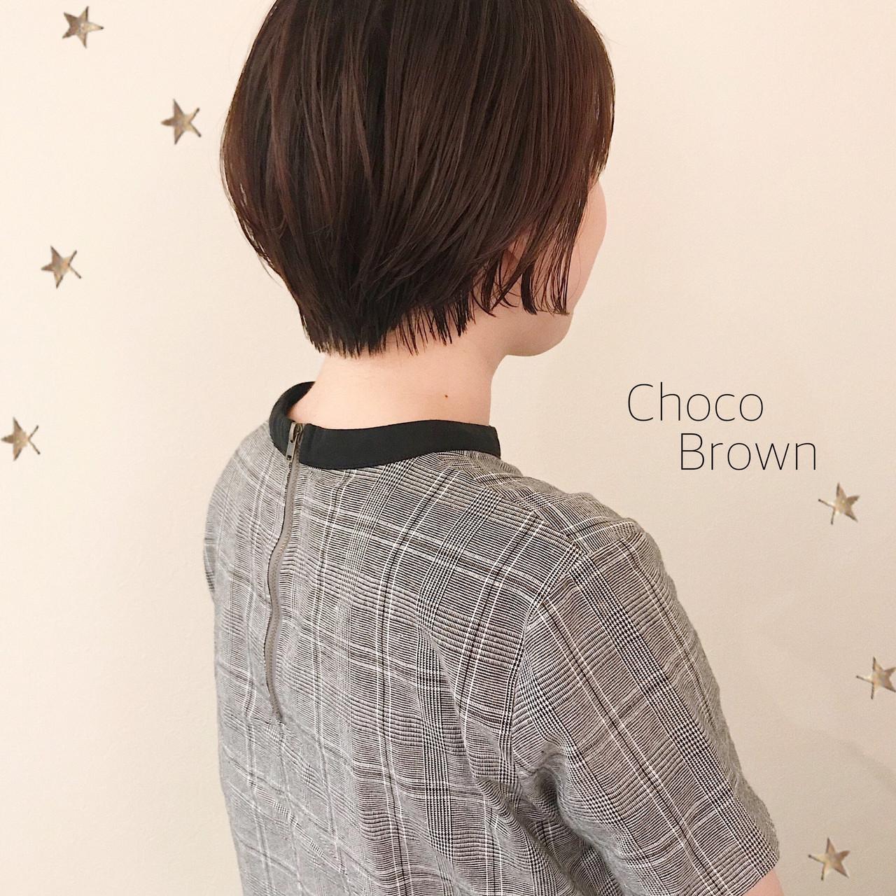 ナチュラル ショート ショートボブ ショートヘア ヘアスタイルや髪型の写真・画像 | 市川千夏*札幌 / salon AKIRA