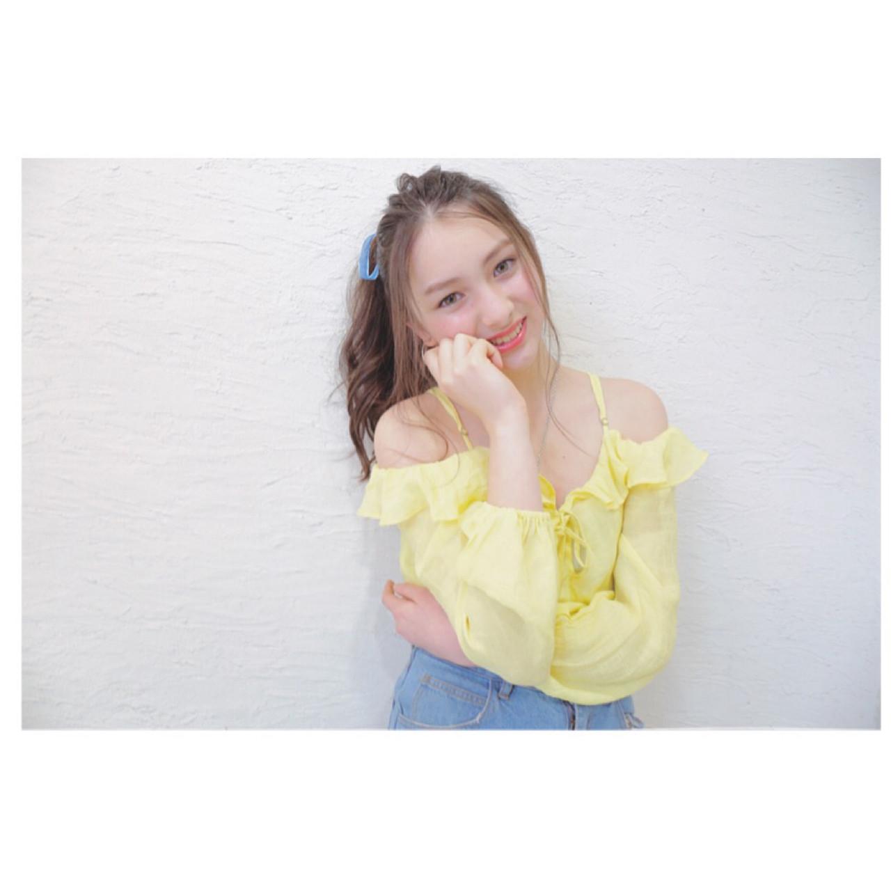 【ポニーテール×前髪なし】ヘアカタログ♡貴方に合う大人アレンジのやり方伝授 原田直美