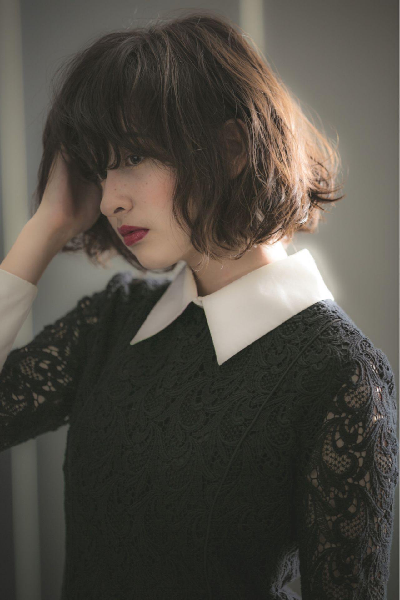 春夏のトレンドカラーはブラック!シックなコーディネートに似合うヘアスタイルとは…? 世良 綾花 / ACQUA omotesando
