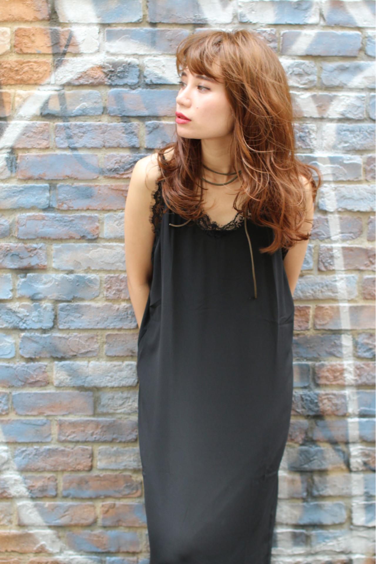 大人かわいい ストリート ゆるふわ ロング ヘアスタイルや髪型の写真・画像 | 太賀雄己 / FROH  (フロウ)