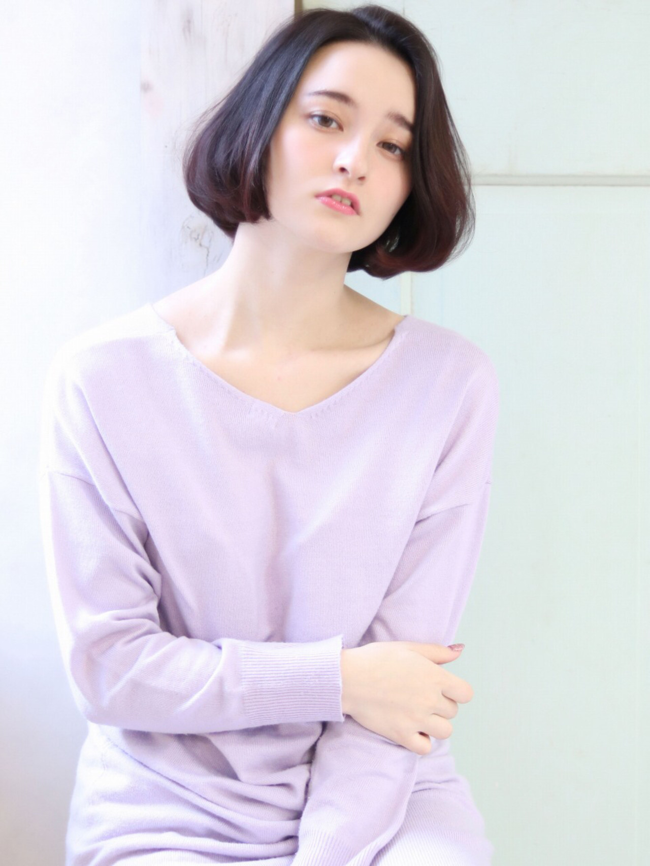 オフィス アッシュ 女子会 ナチュラル ヘアスタイルや髪型の写真・画像 | 石川フミヤ / Jule