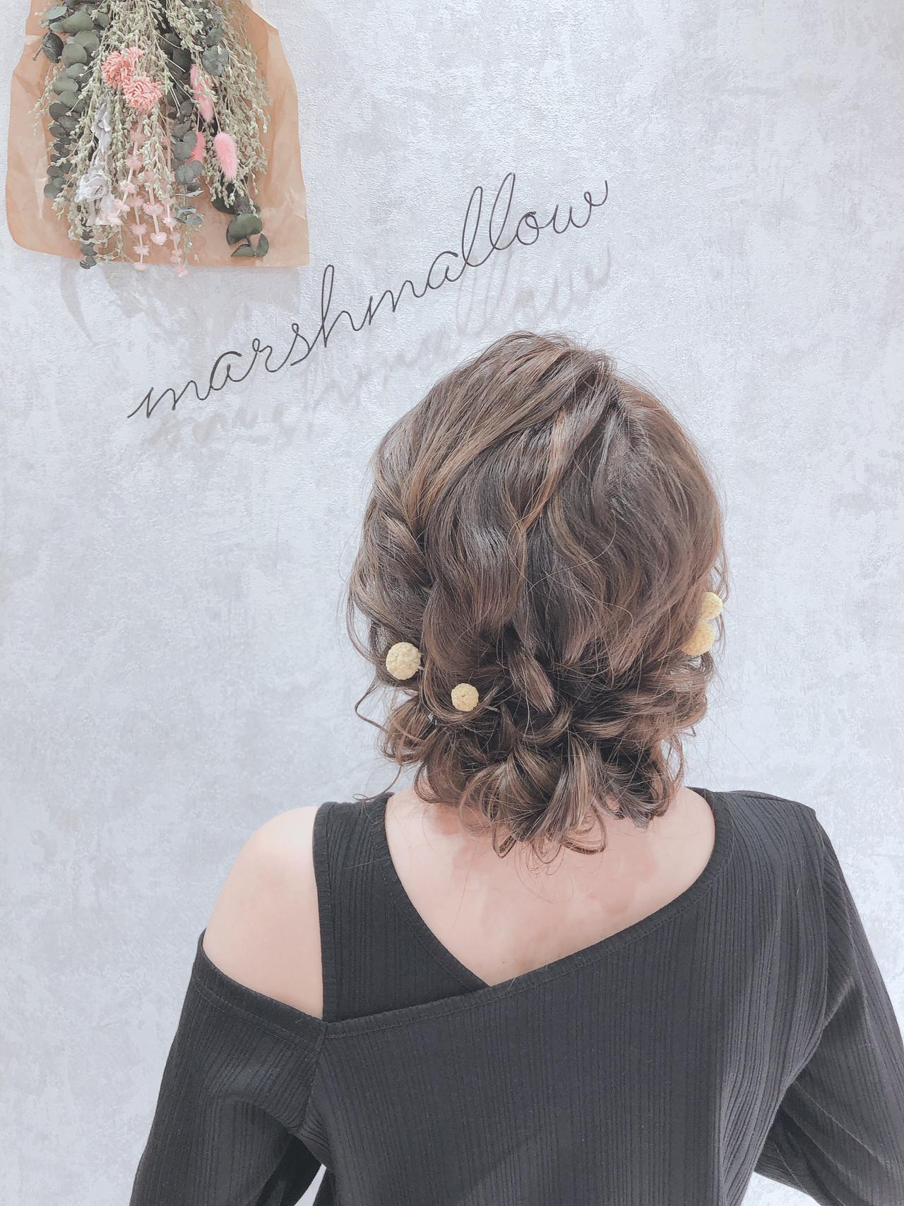 外国人風 セミロング 大人かわいい フェミニン ヘアスタイルや髪型の写真・画像 | Nana★Marshmallow / Marshmallow styling/photo