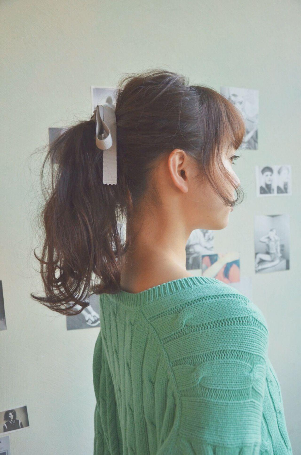 アップスタイル ナチュラル ゆるふわ モテ髪 ヘアスタイルや髪型の写真・画像 | 秋山 絵梨香 / loutus / loutus
