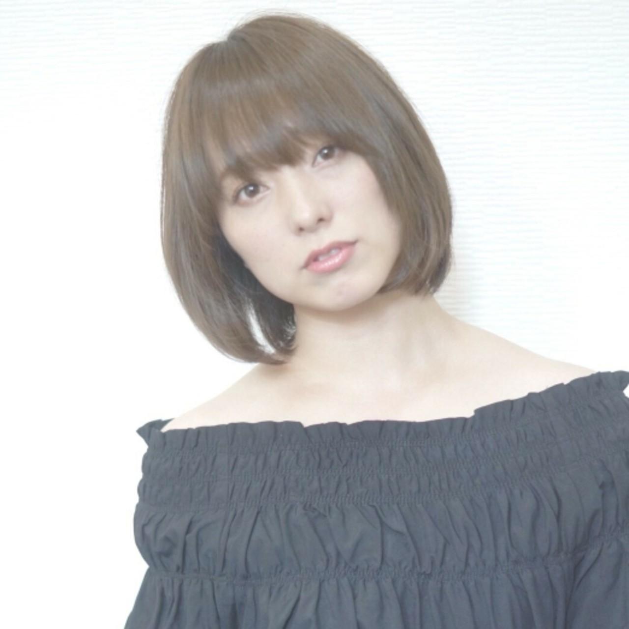 大人かわいい 内巻き オフィス ワンカール ヘアスタイルや髪型の写真・画像   asuka /