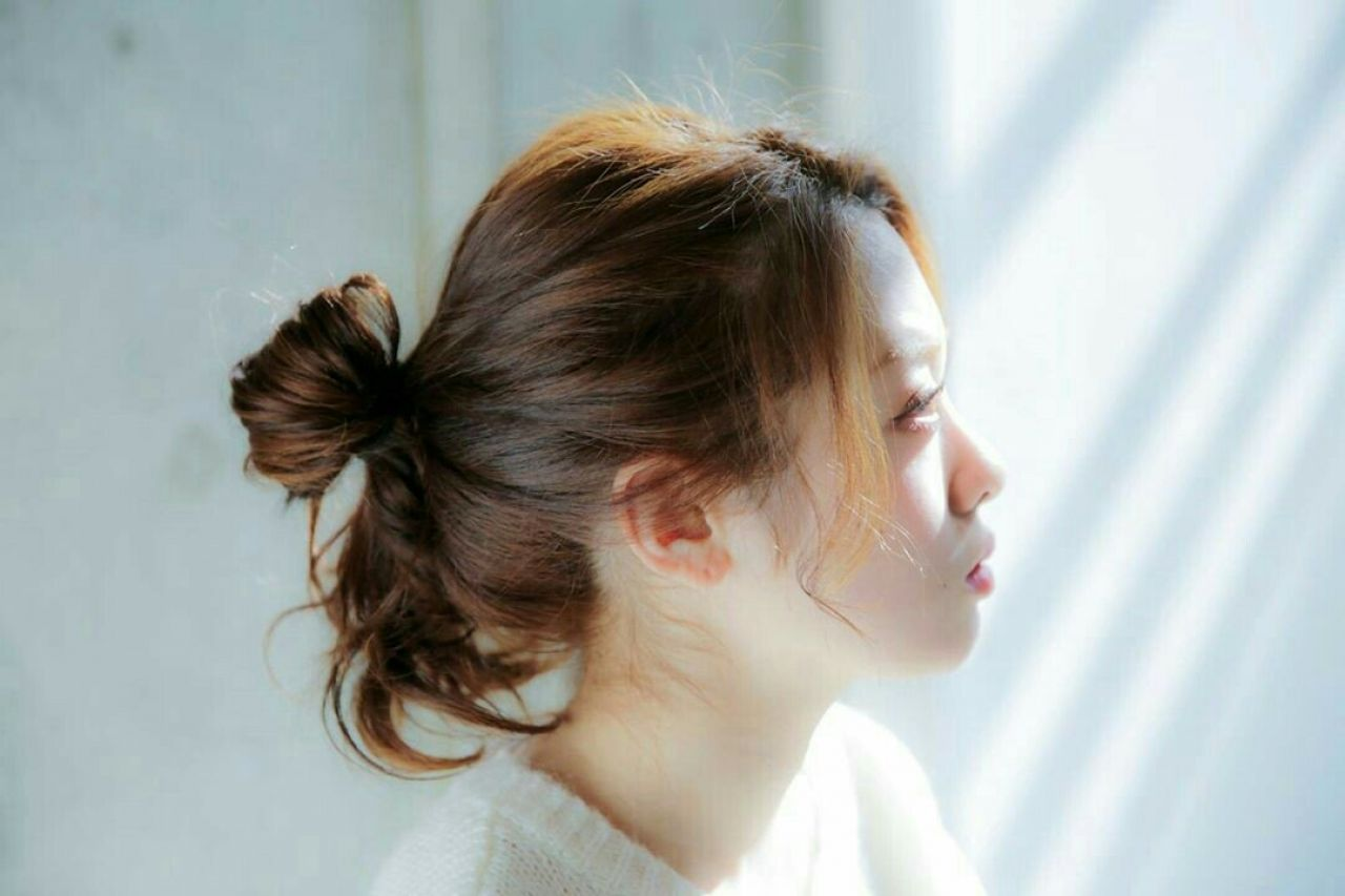 ヘアスタイルだってエフォートレス!抜け感は作ってなんぼ♡まとめ髪特集! 福永圭祐 / U-REALM
