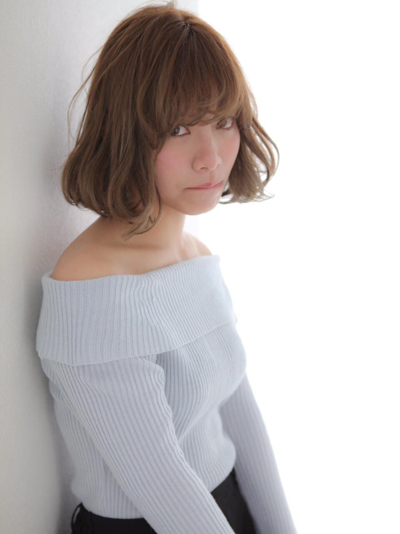 ラフ 愛され ワンカール 大人女子 ヘアスタイルや髪型の写真・画像 | 渡邊りつ /