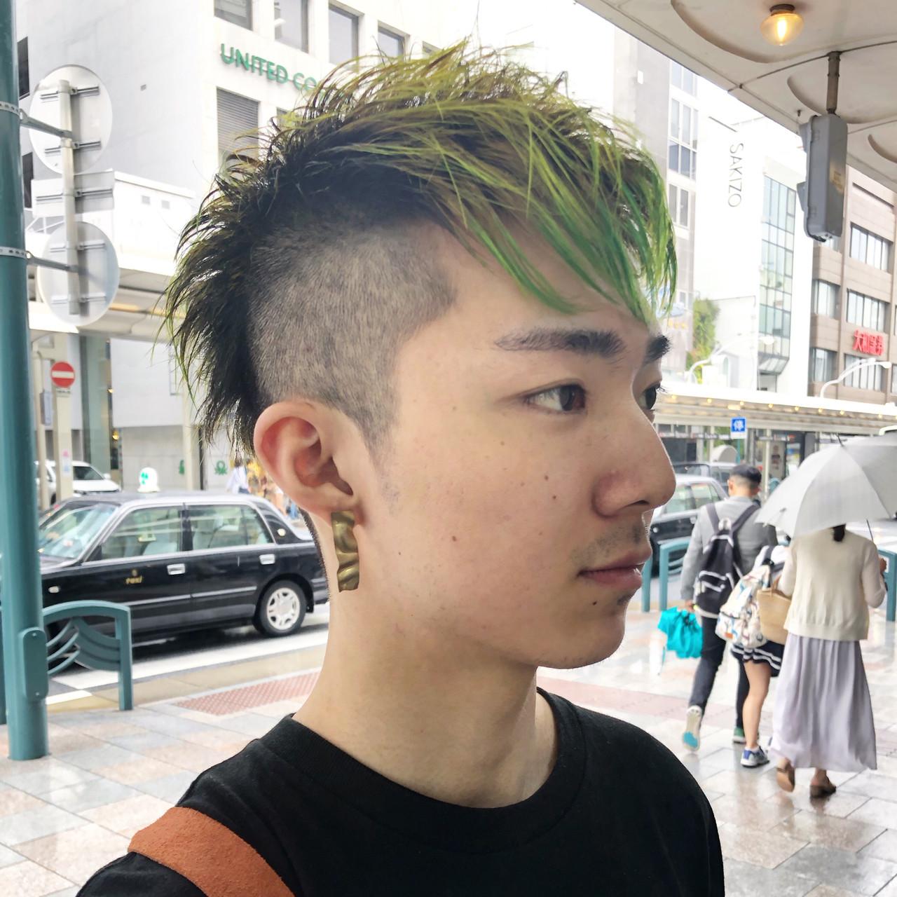 モード メンズヘア メンズショート メンズ ヘアスタイルや髪型の写真・画像   元橋啓太 / snob