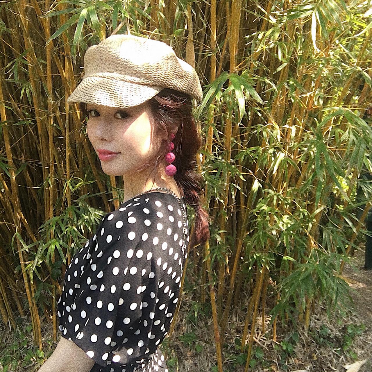 ヘアアレンジ フェミニン 大人かわいい 三つ編み ヘアスタイルや髪型の写真・画像 | 桐谷 芽依 /