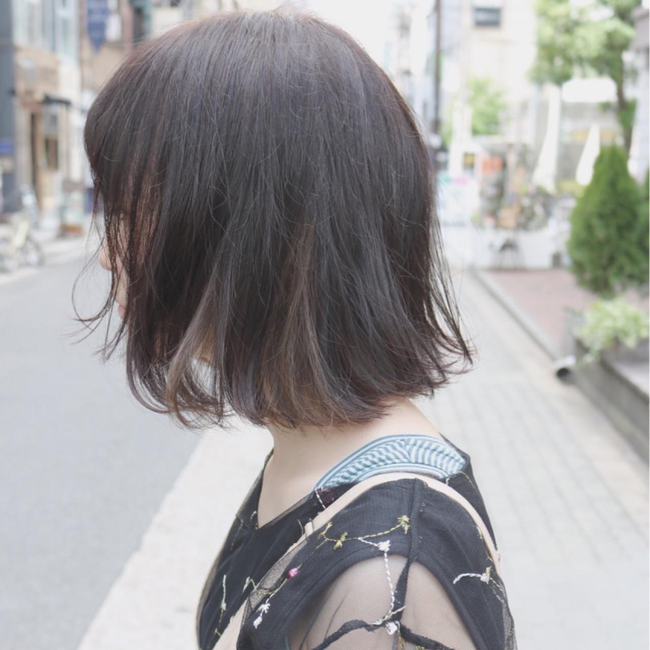 大人かわいい インナーカラー 透明感 イルミナカラー ヘアスタイルや髪型の写真・画像 | shingo shuto / airfeel