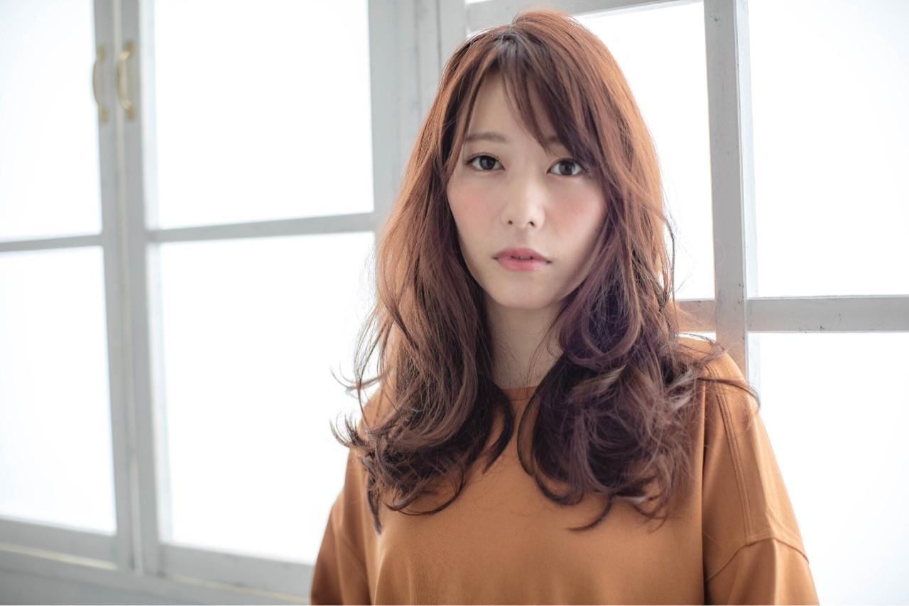 ゆるふわ コンサバ 暗髪 秋 ヘアスタイルや髪型の写真・画像 | yoko kog /
