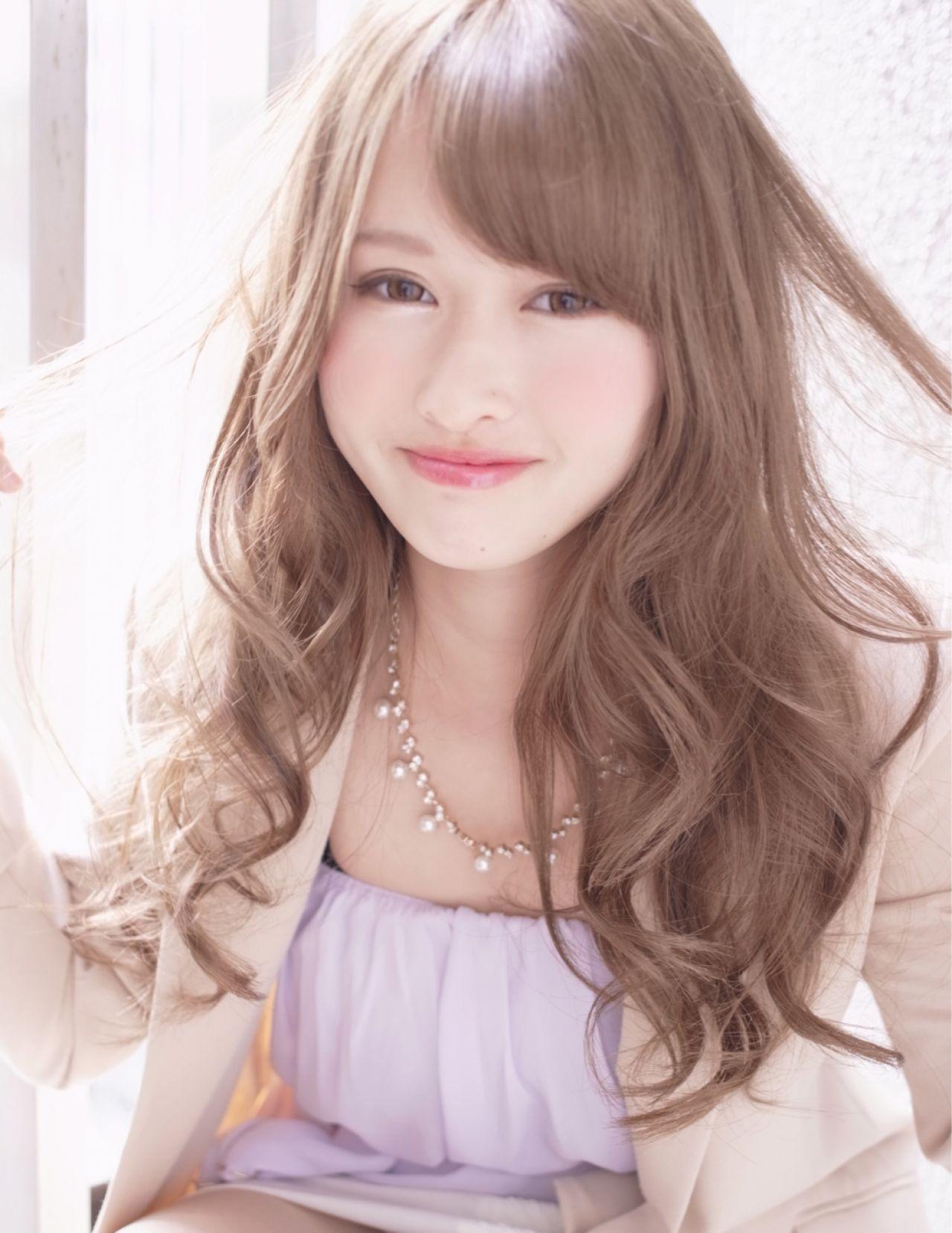 モテ髪 大人かわいい 愛され 春ヘアスタイルや髪型の写真・画像